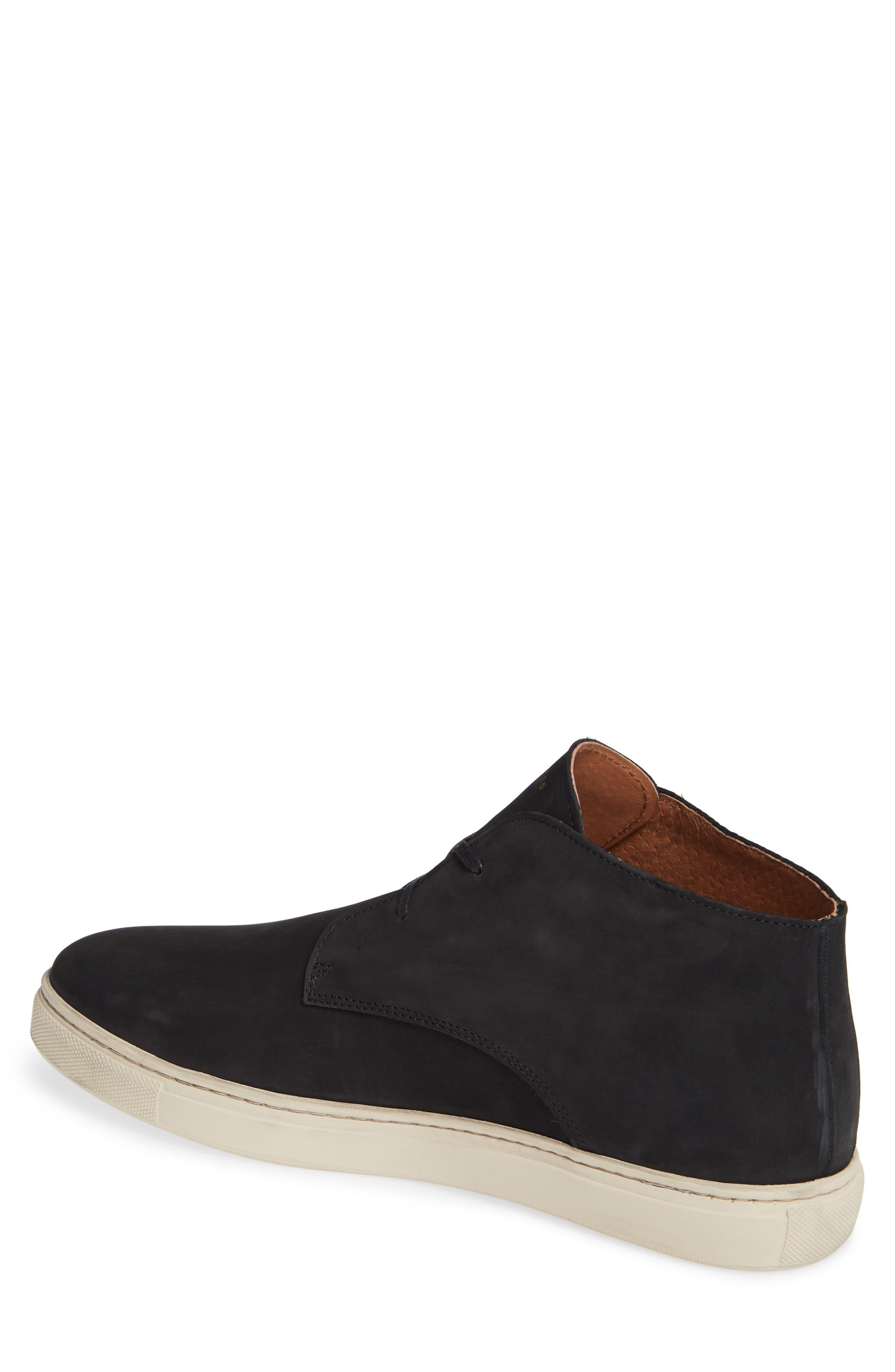 Dempsey Chukka Sneaker,                             Alternate thumbnail 2, color,                             BLACK