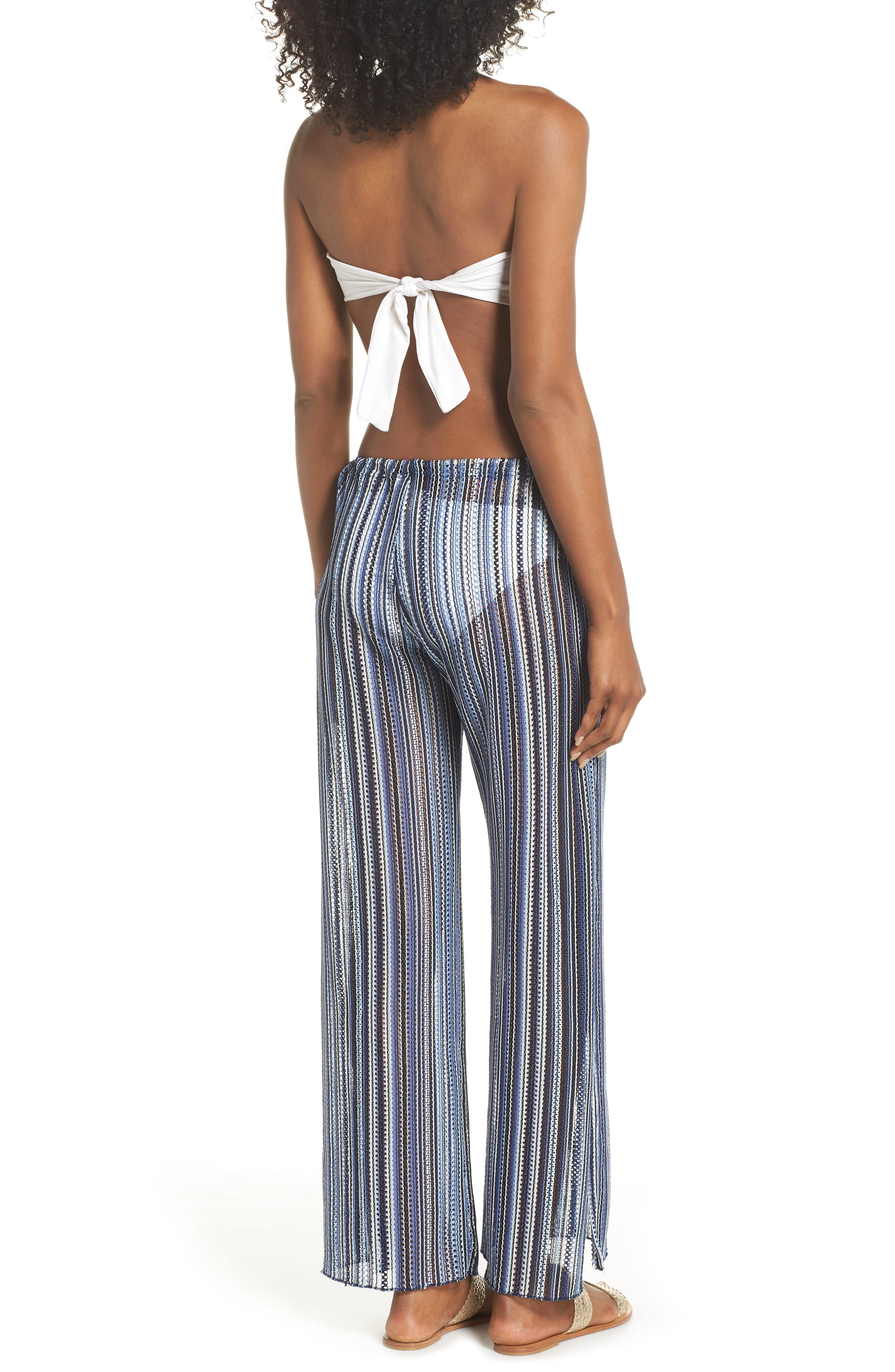 Pierside Cover-Up Flyaway Pants,                             Alternate thumbnail 2, color,                             INDIGO