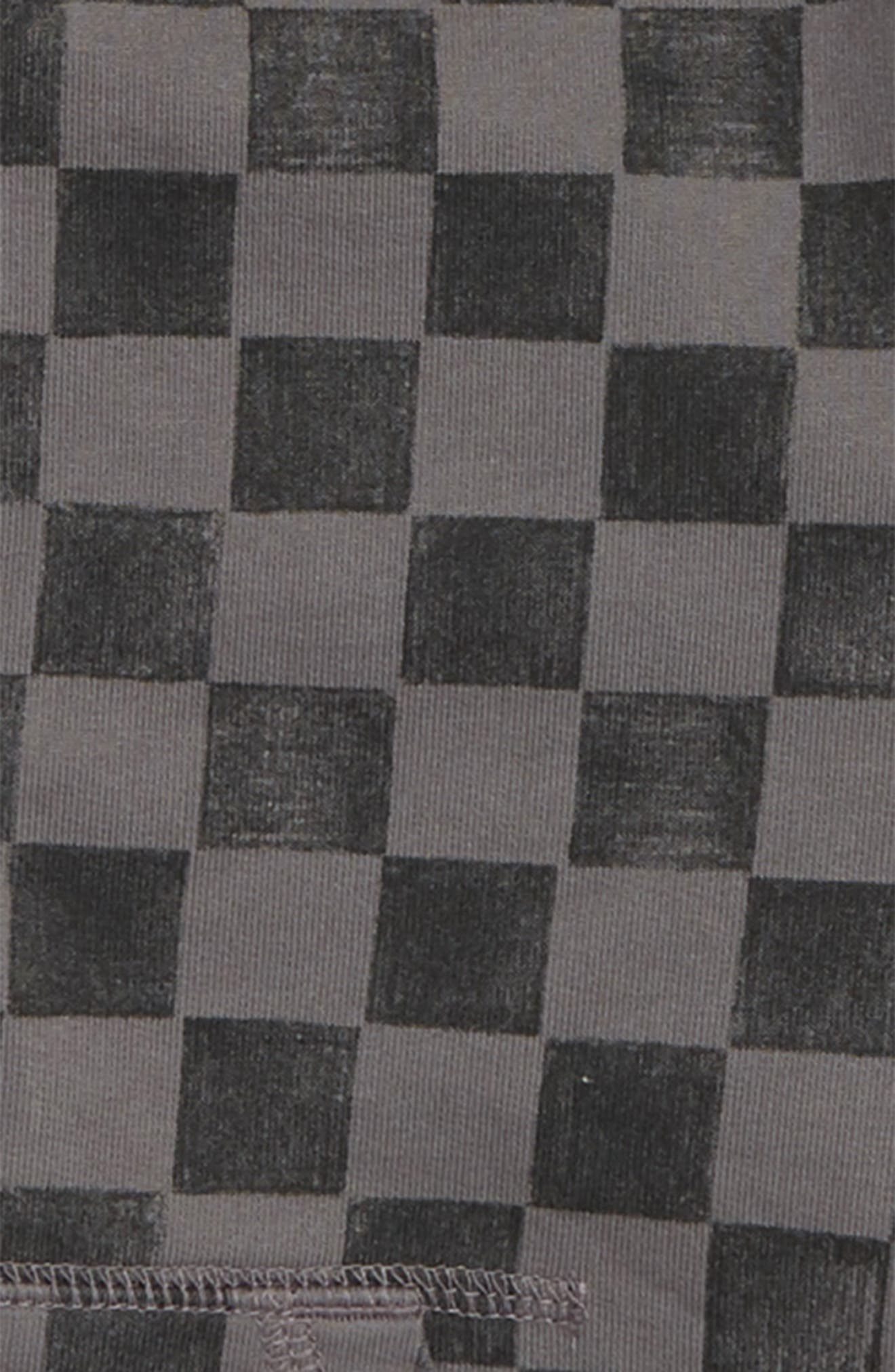 Checkerboard Zip Hoodie,                             Alternate thumbnail 2, color,                             SOHO SQUARES