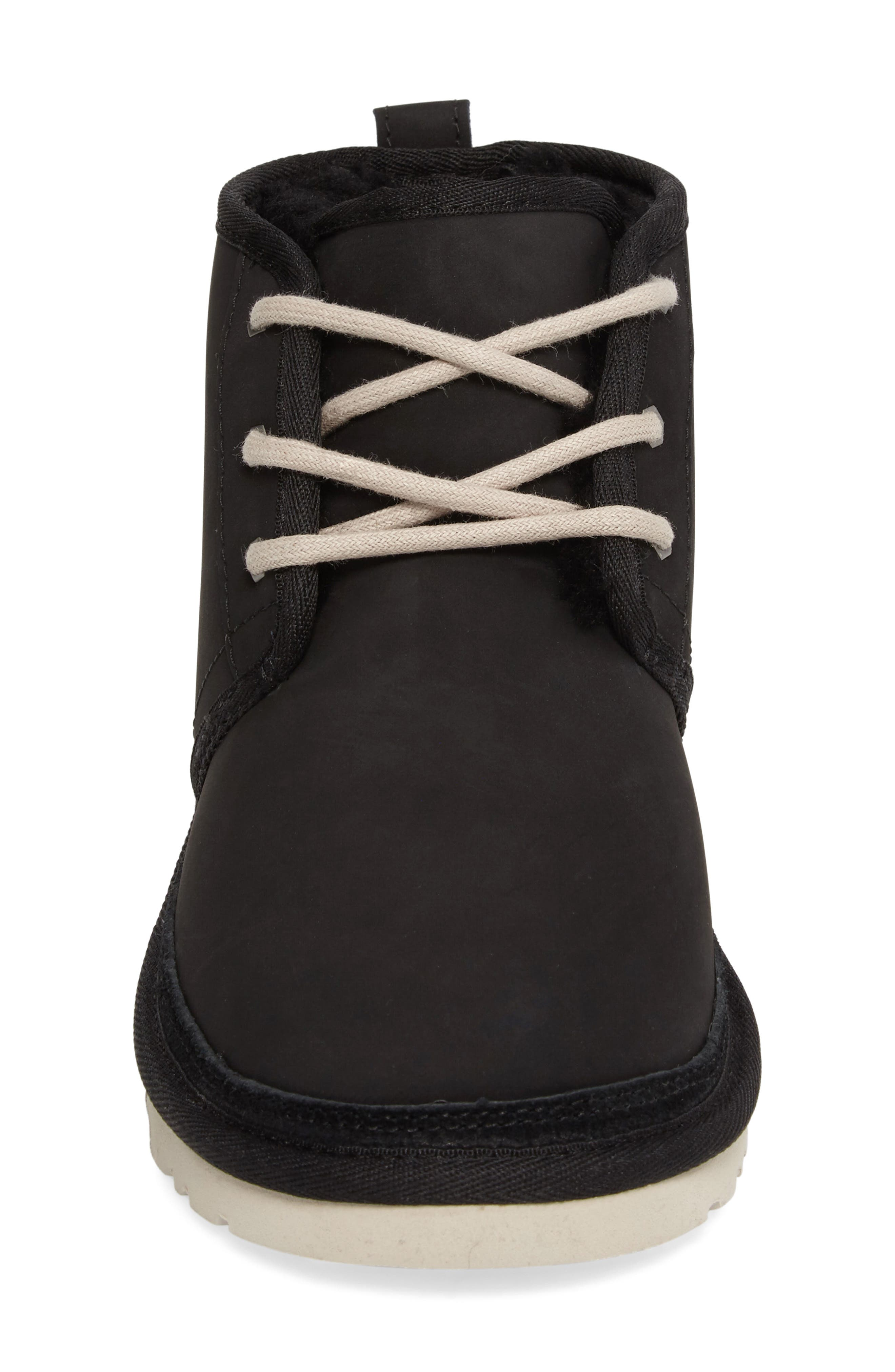 Neumel Genuine Shearling Boot,                             Alternate thumbnail 4, color,                             002