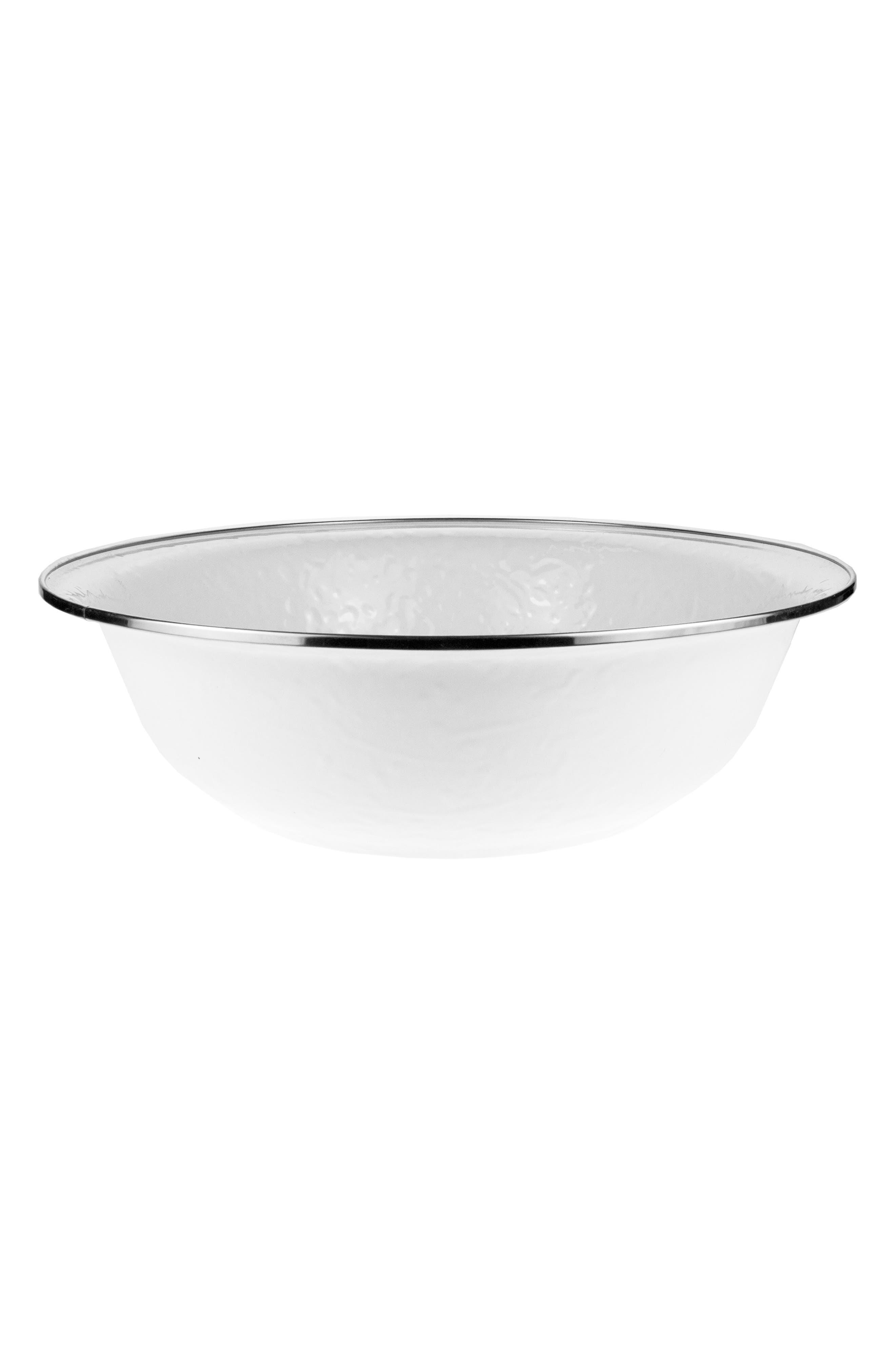 Serving Bowl,                             Main thumbnail 1, color,                             SOLID WHITE