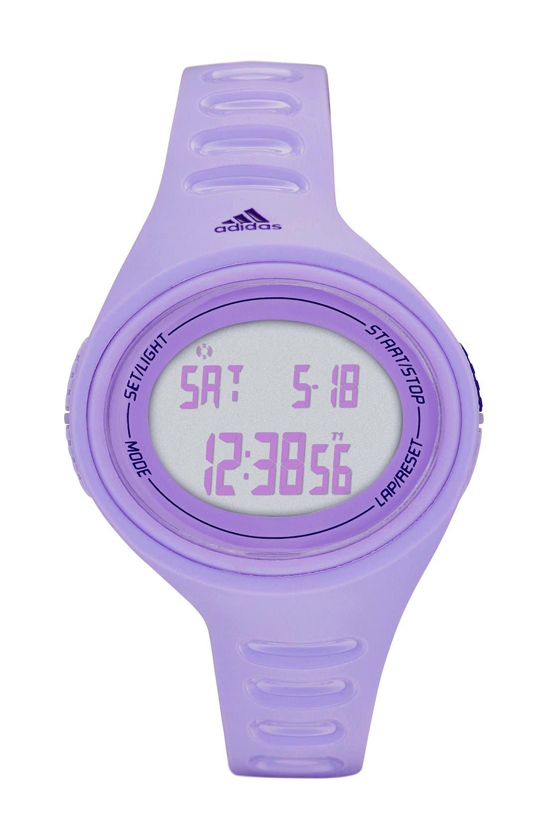 'Adizero' Digital Watch, 43mm x 38mm,                             Main thumbnail 3, color,