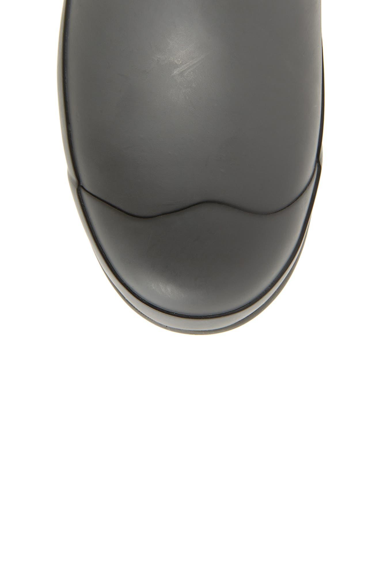 Pendleton Oxford Rain Boot,                             Alternate thumbnail 5, color,                             GRAY