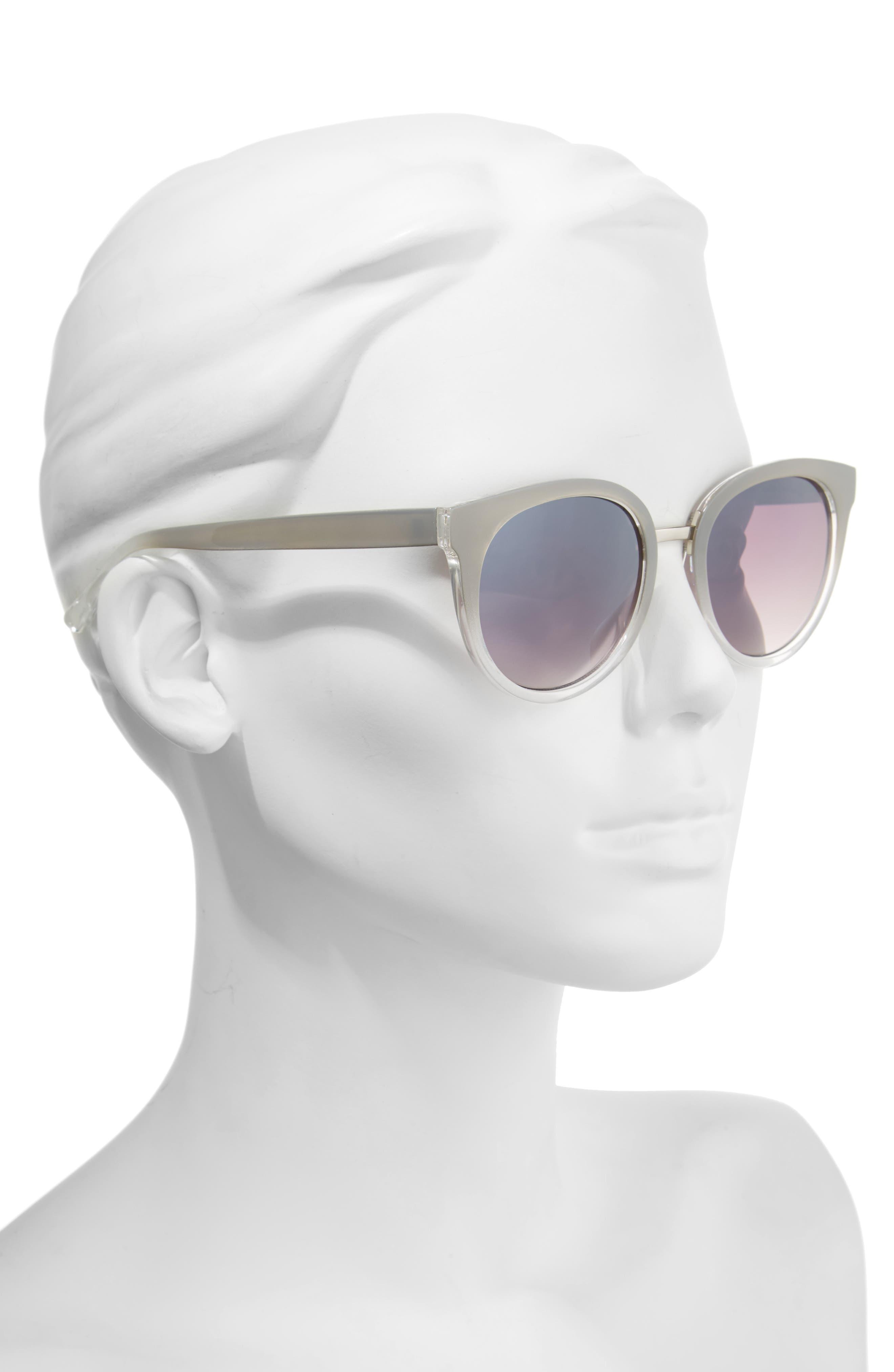51mm Ombré Sunglasses,                             Alternate thumbnail 2, color,                             020