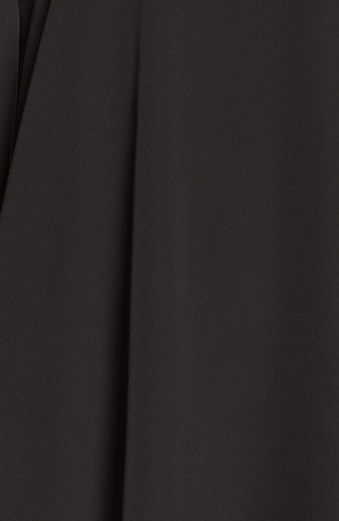 A BY AMANDA,                             Luella One-Shoulder Dress,                             Alternate thumbnail 6, color,                             001