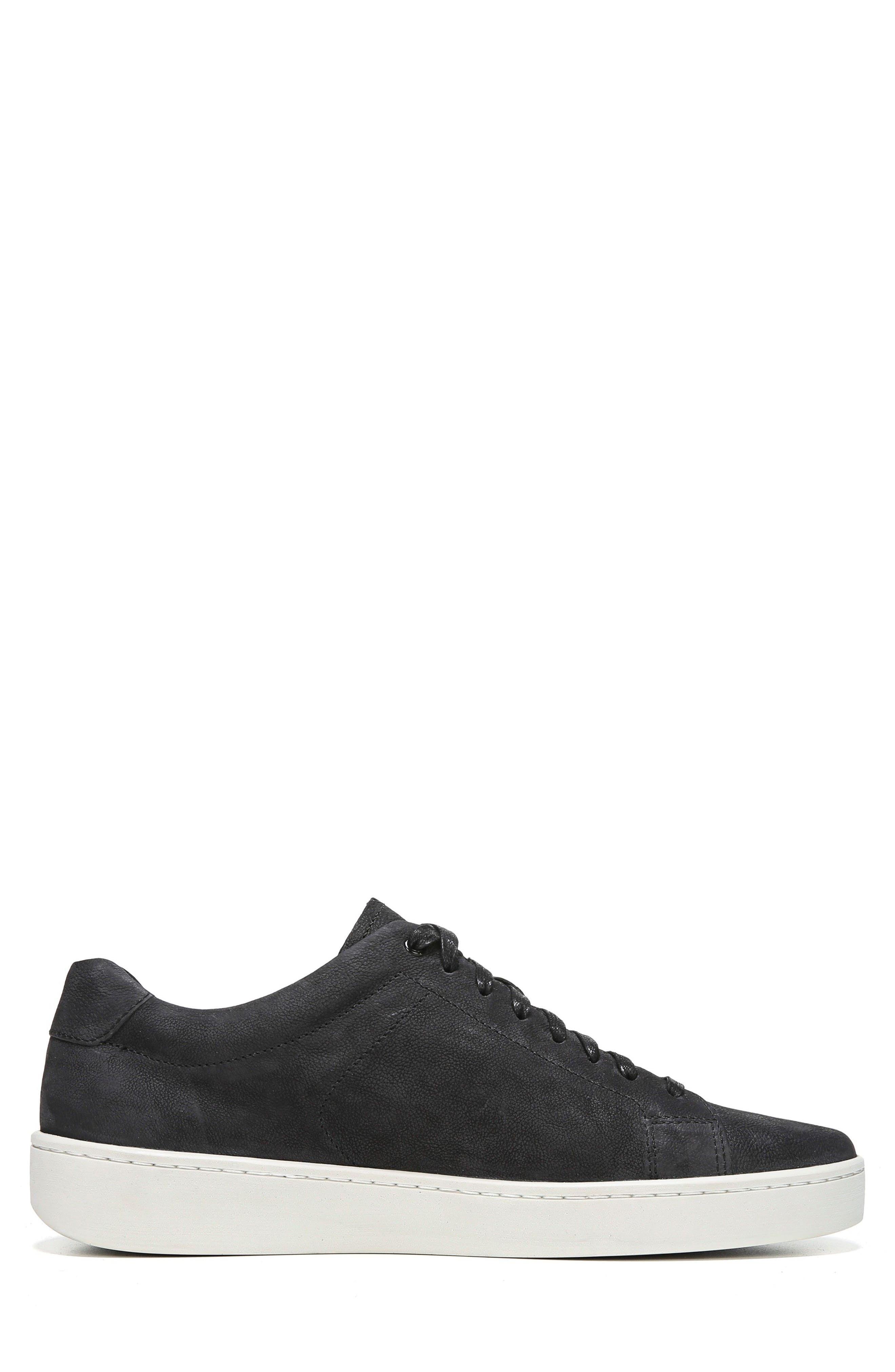 Slater Sneaker,                             Alternate thumbnail 6, color,                             BLACK NUBUCK