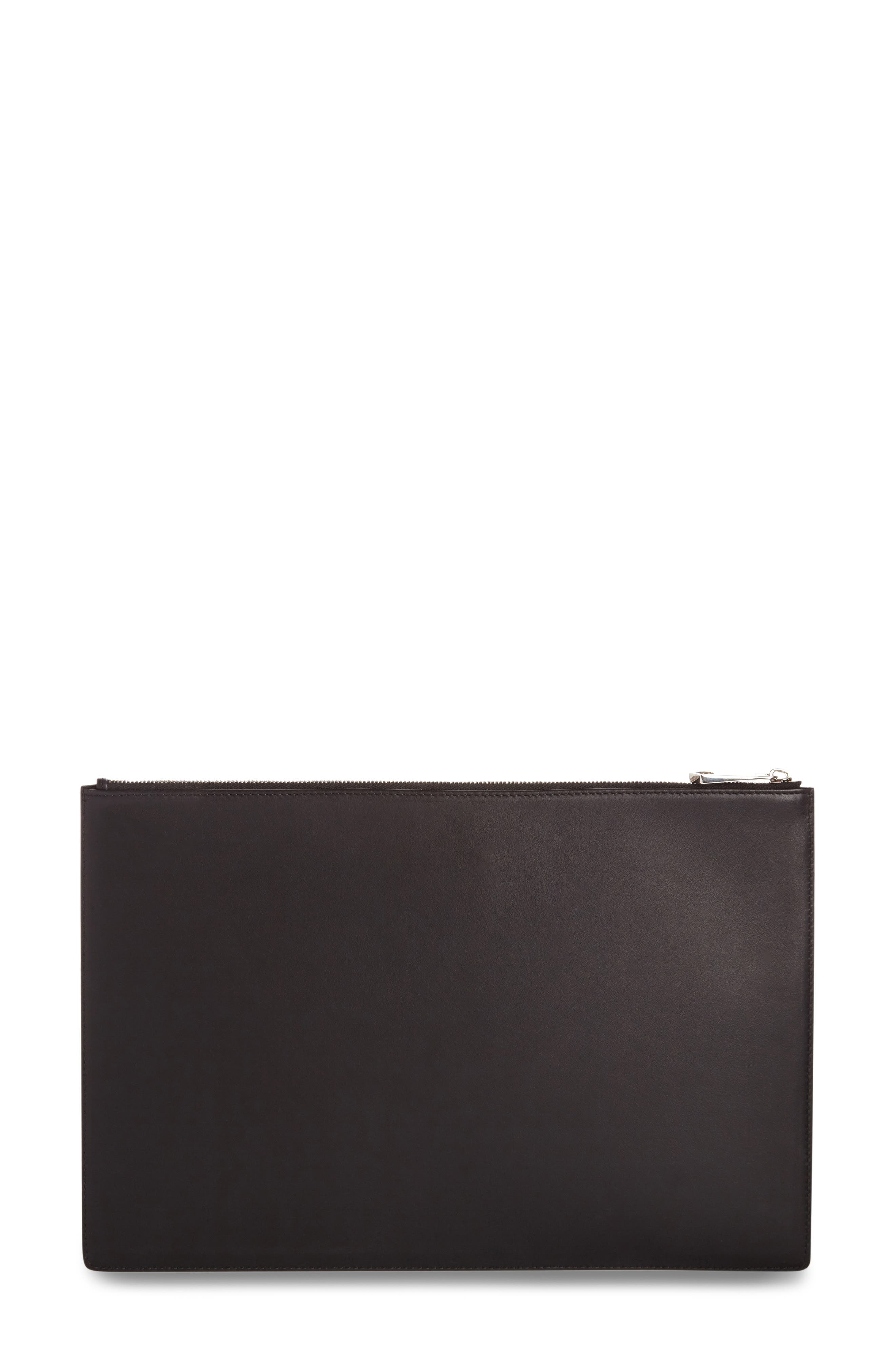 Bambi<sup>™</sup> Print Leather Pouch,                             Alternate thumbnail 3, color,