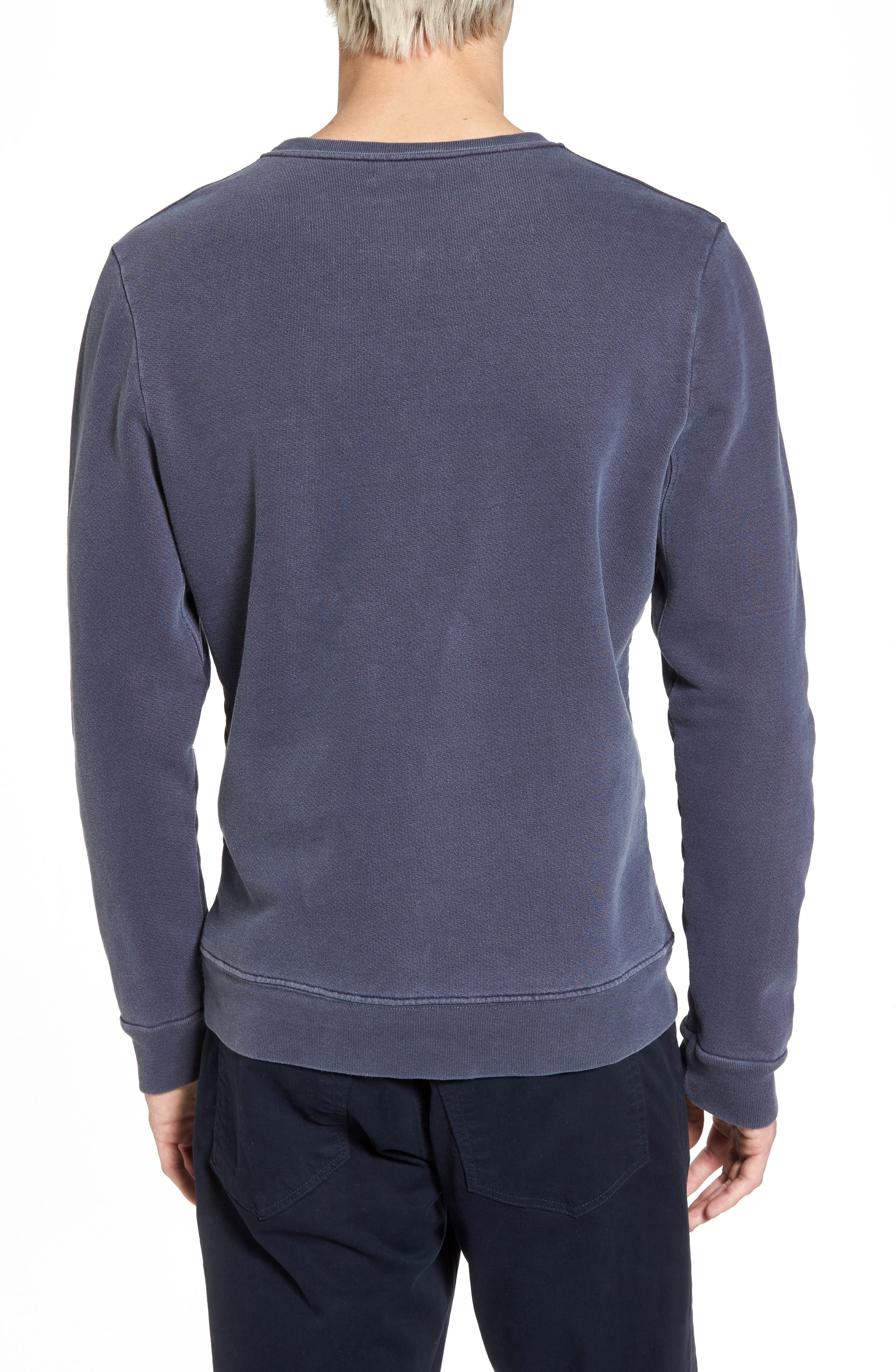 Vintage Crewneck Sweatshirt,                             Alternate thumbnail 5, color,
