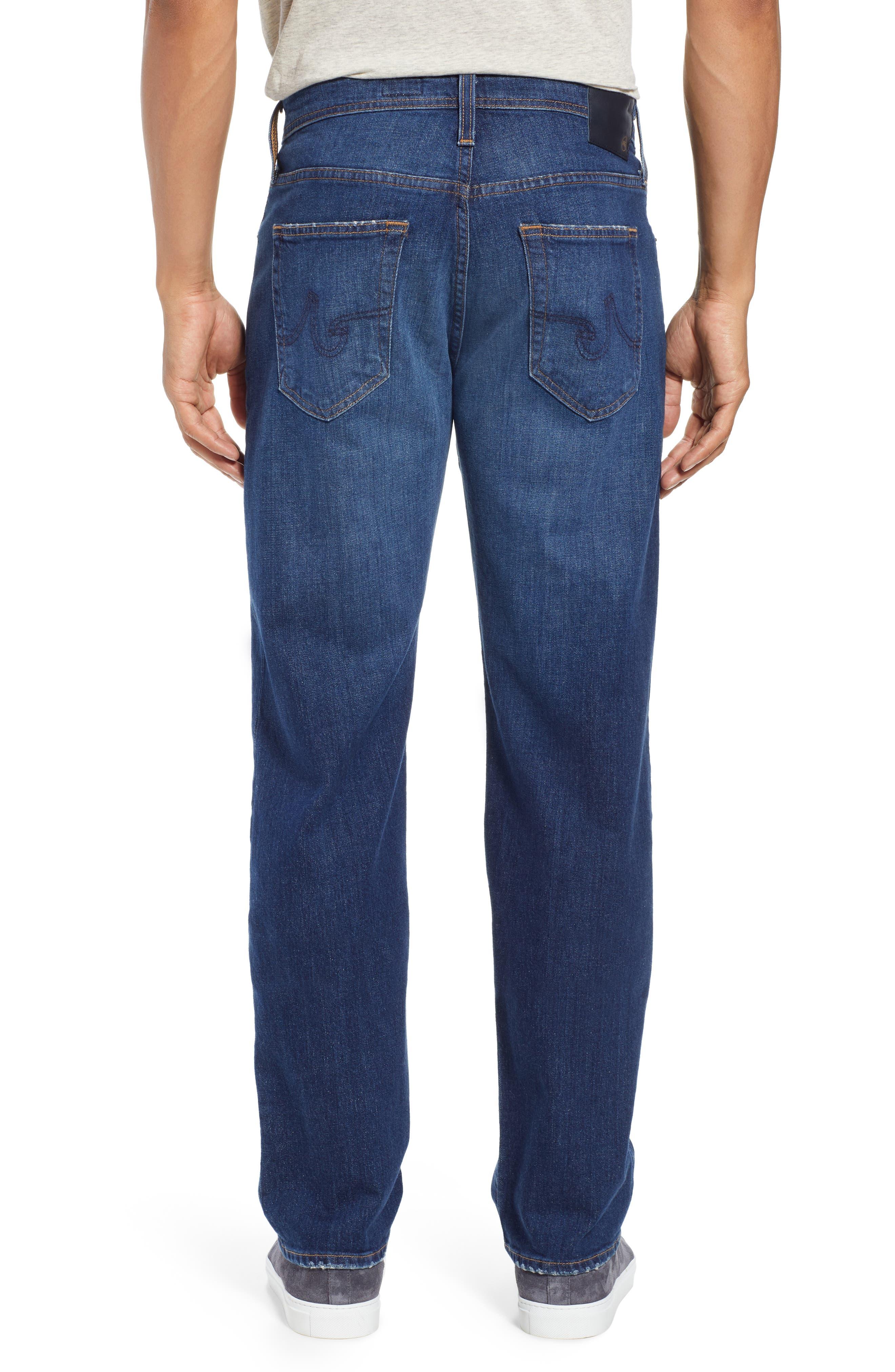 Graduate Slim Straight Leg Jeans,                             Alternate thumbnail 2, color,                             400