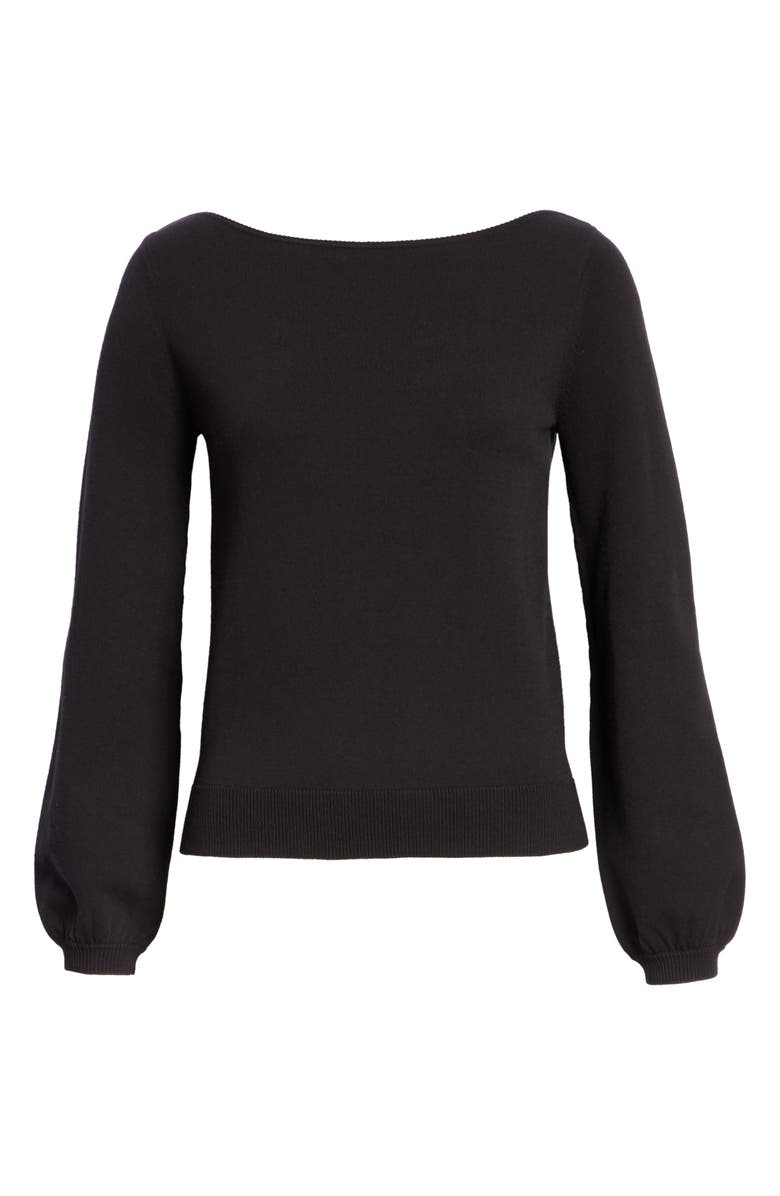 CO Tops BOAT NECK KNIT TOP