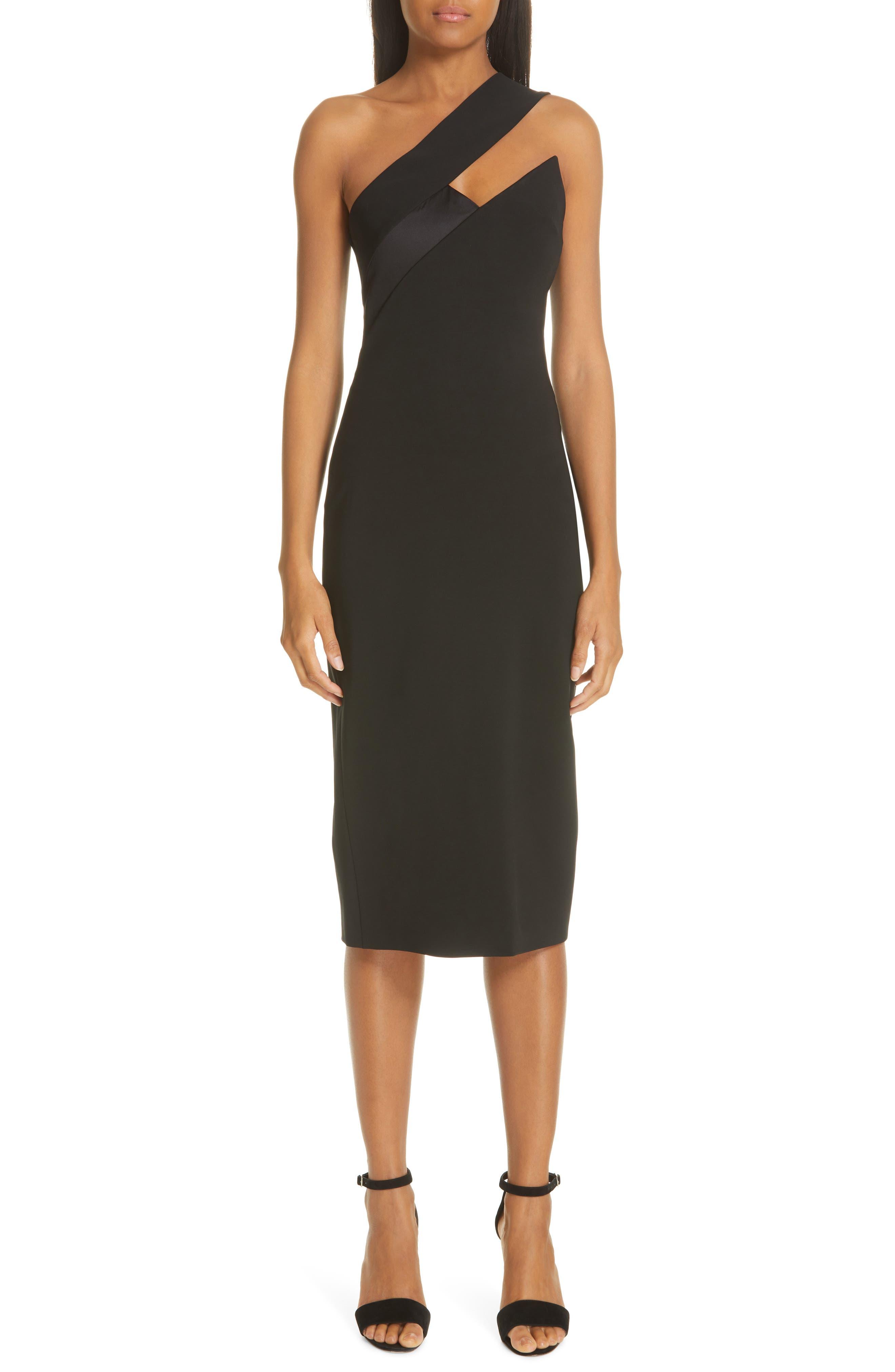 f636dbf7e2 Cushnie Asymmetrical Cutout Pencil Dress
