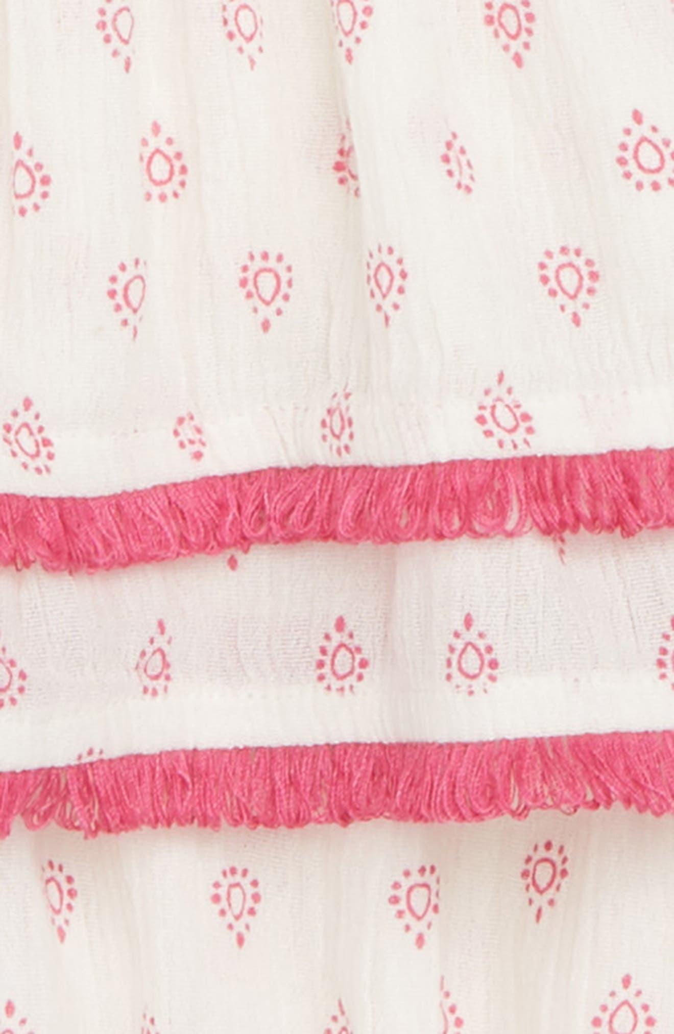 Flutter Sleeve Dress,                             Alternate thumbnail 2, color,                             900