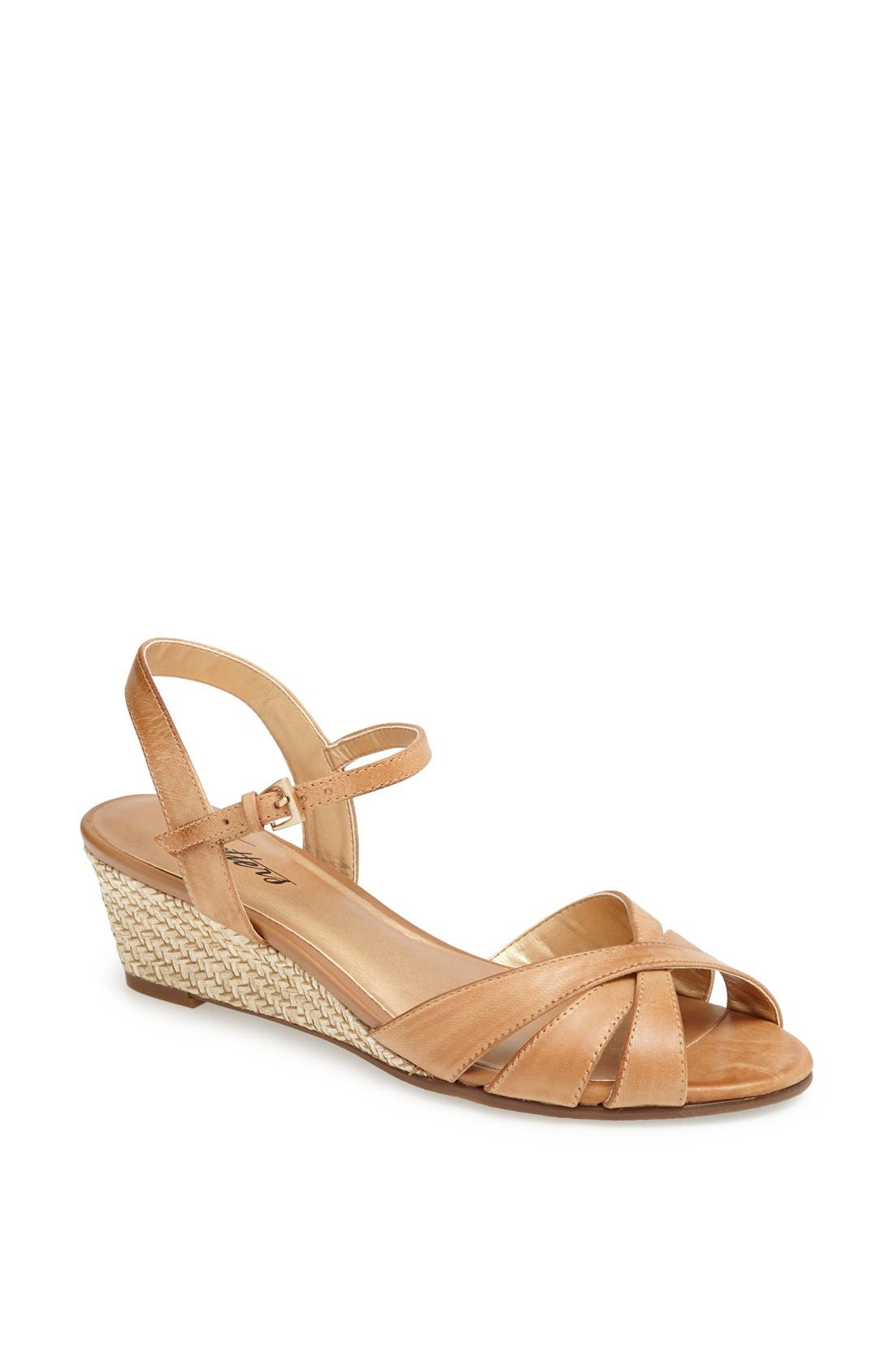'Mickey' Wedge Sandal,                             Main thumbnail 8, color,