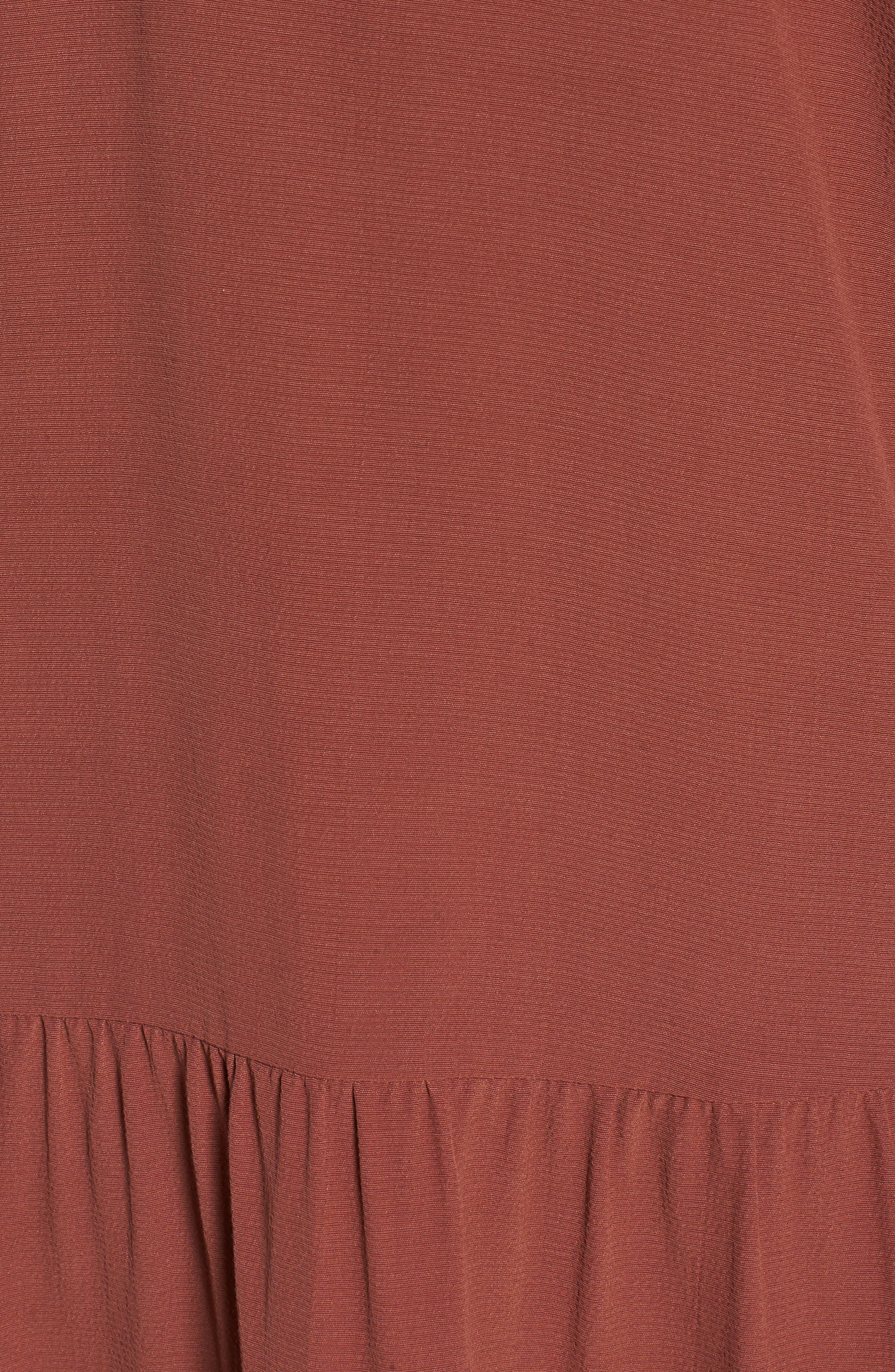 Drop Waist Tencel<sup>®</sup> Lyocell Blend Dress,                             Alternate thumbnail 19, color,
