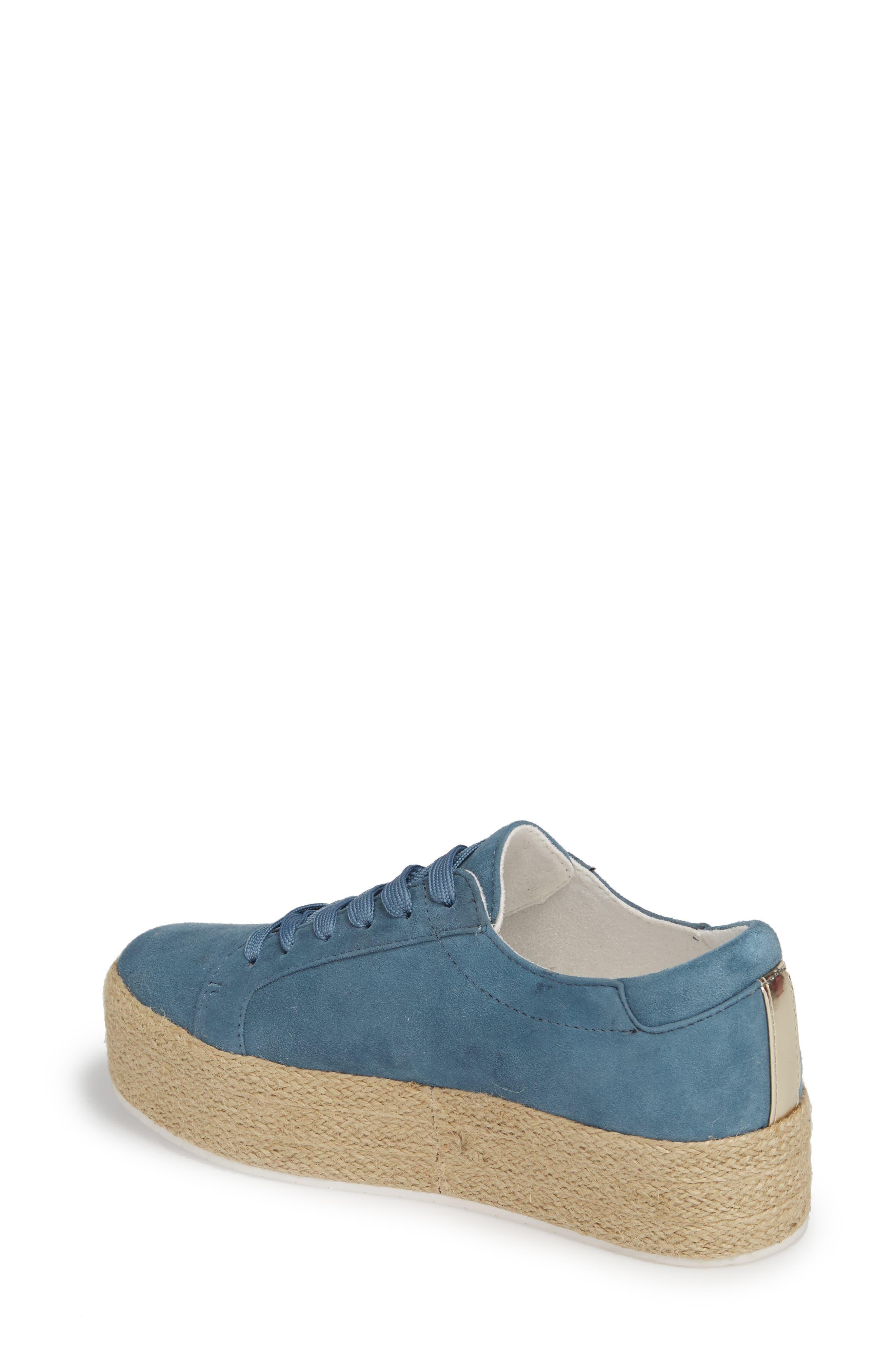 Allyson Espadrille Platform Sneaker,                             Alternate thumbnail 7, color,
