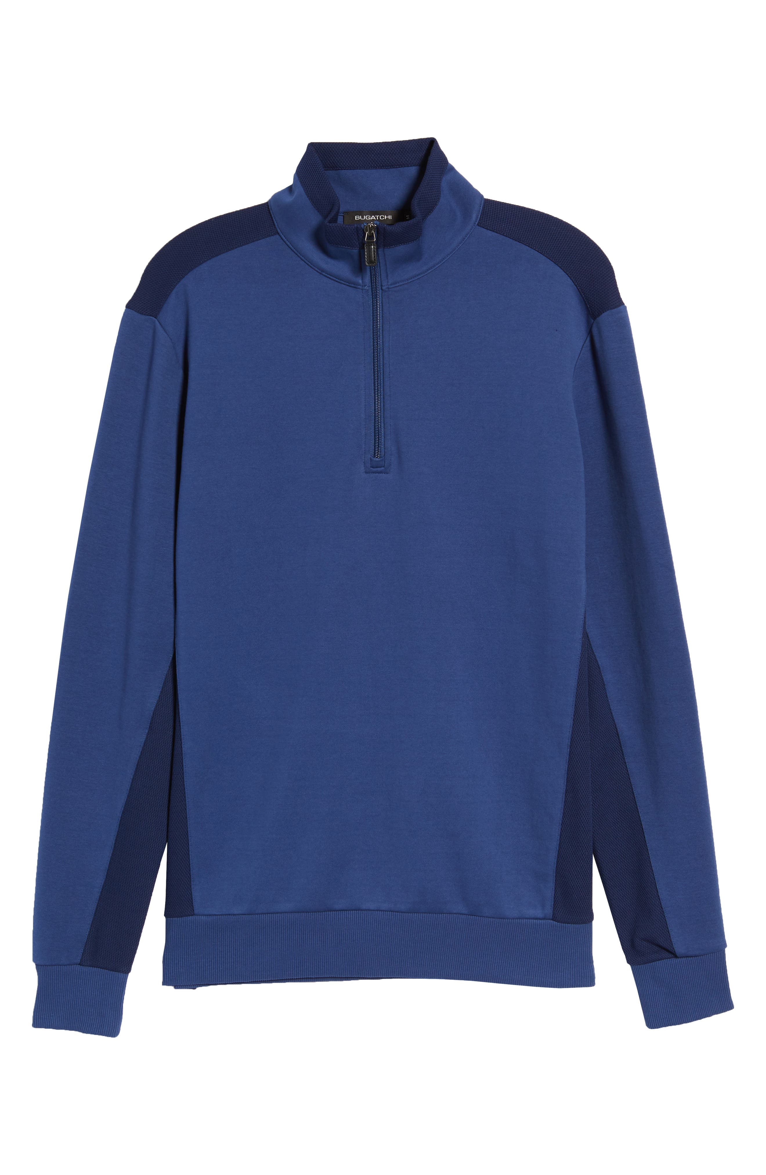 Regular Fit Knit Quarter Zip Pullover,                             Alternate thumbnail 22, color,