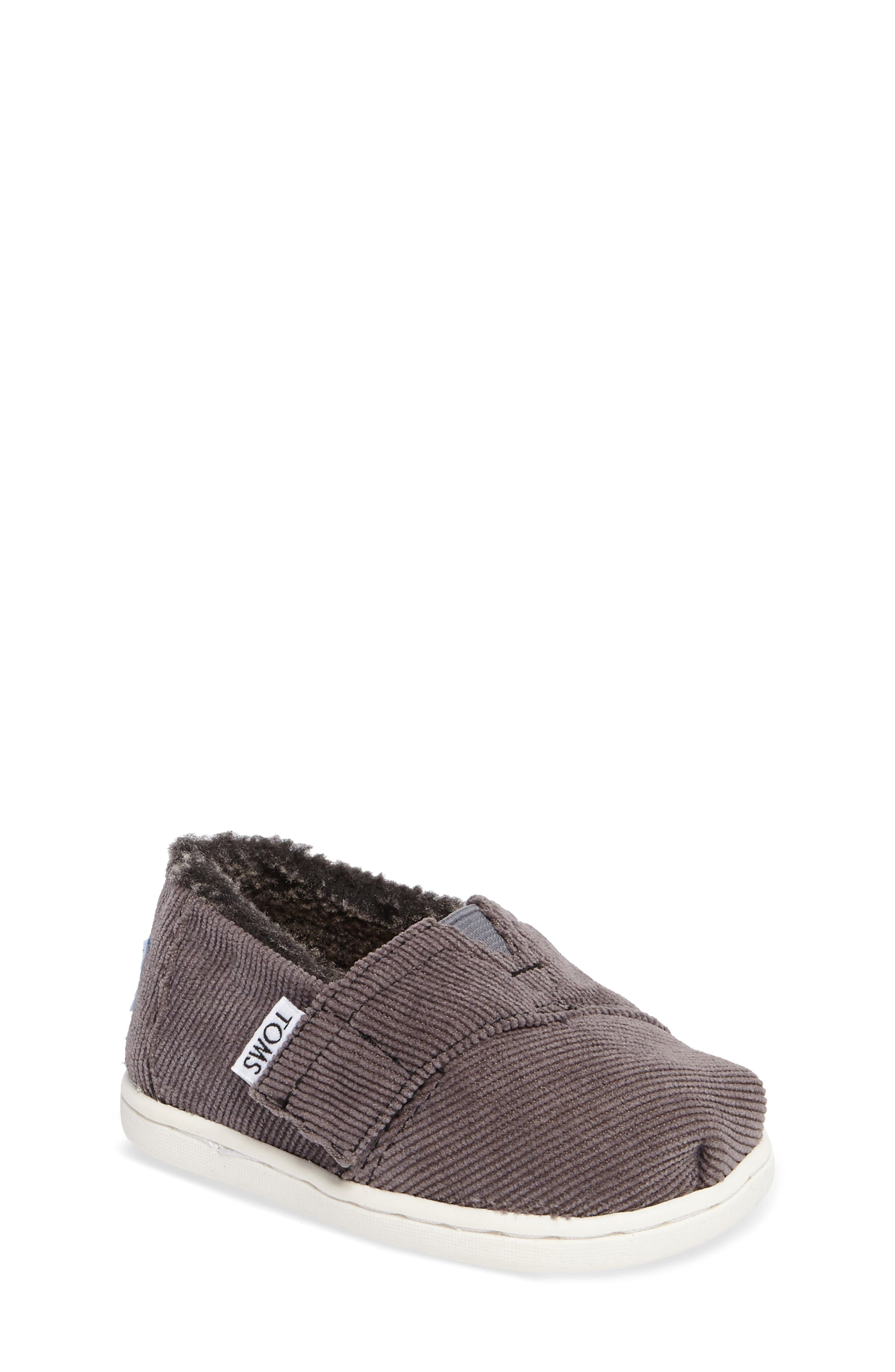 Classic - Tiny Herringbone Faux Shearling Lined Slip-On,                         Main,                         color, 022