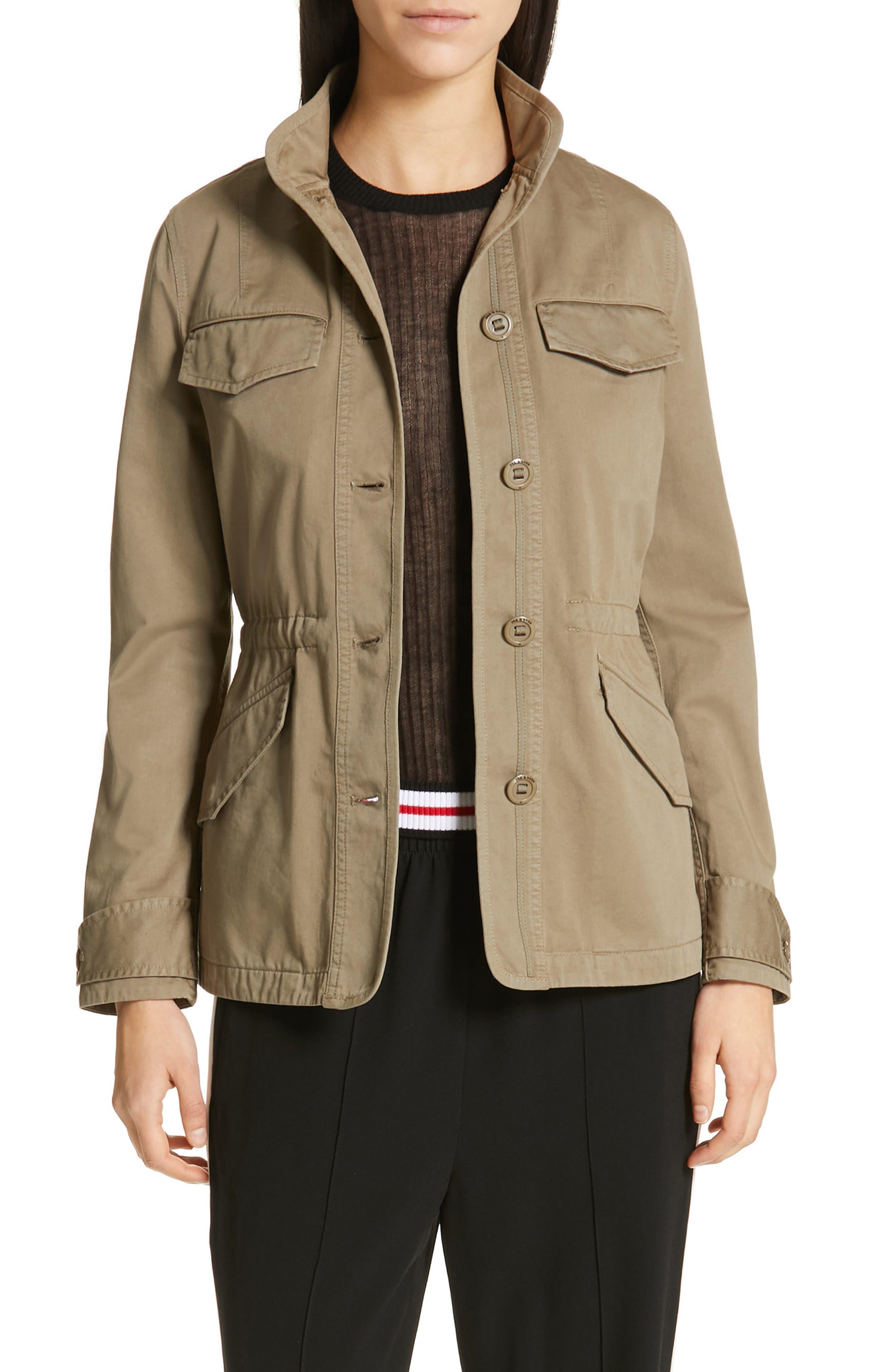 Daniella Utility Jacket, Main, color, DRY GRASS