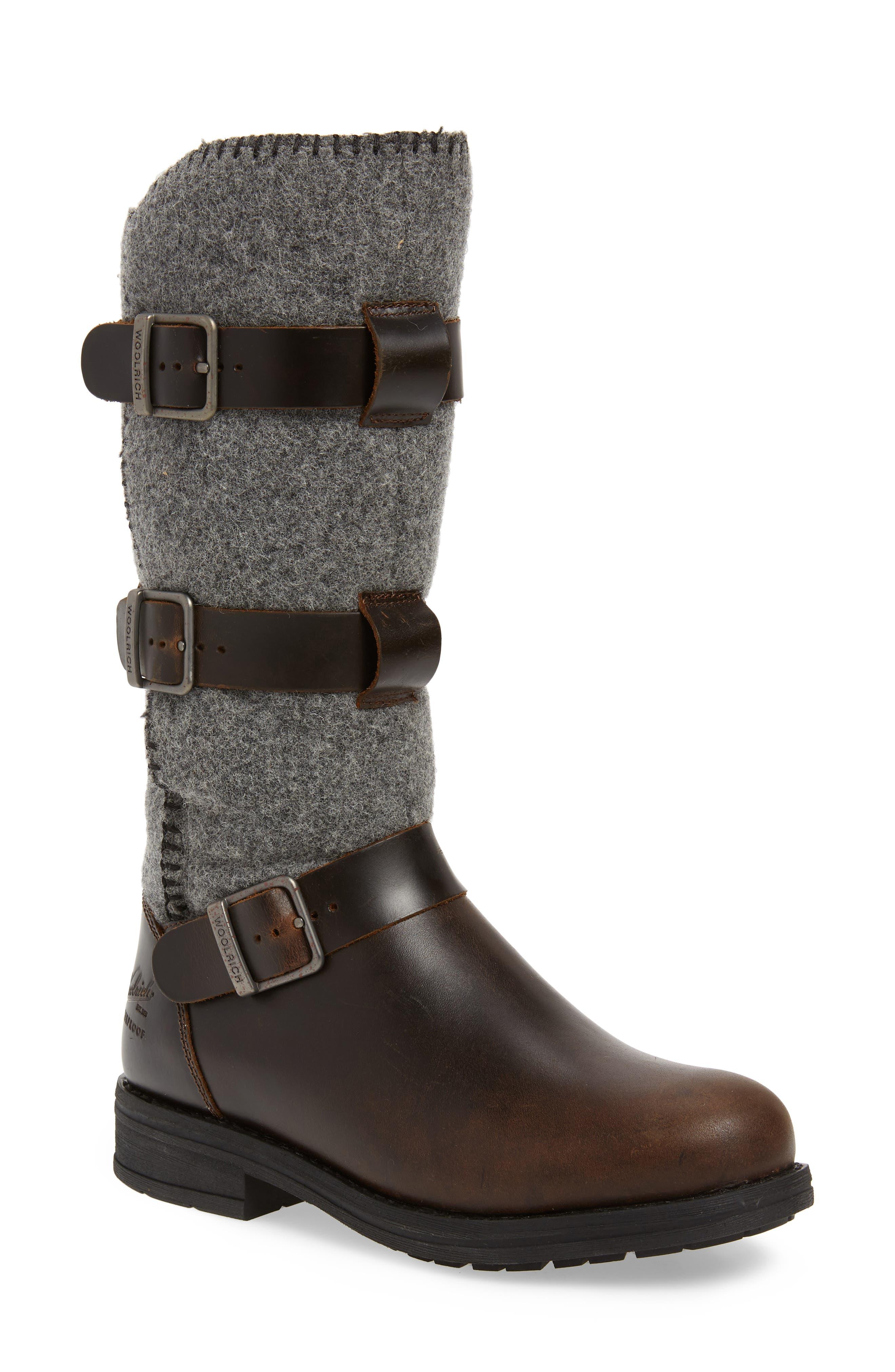Woolrich Frontier Waterproof Boot, Grey