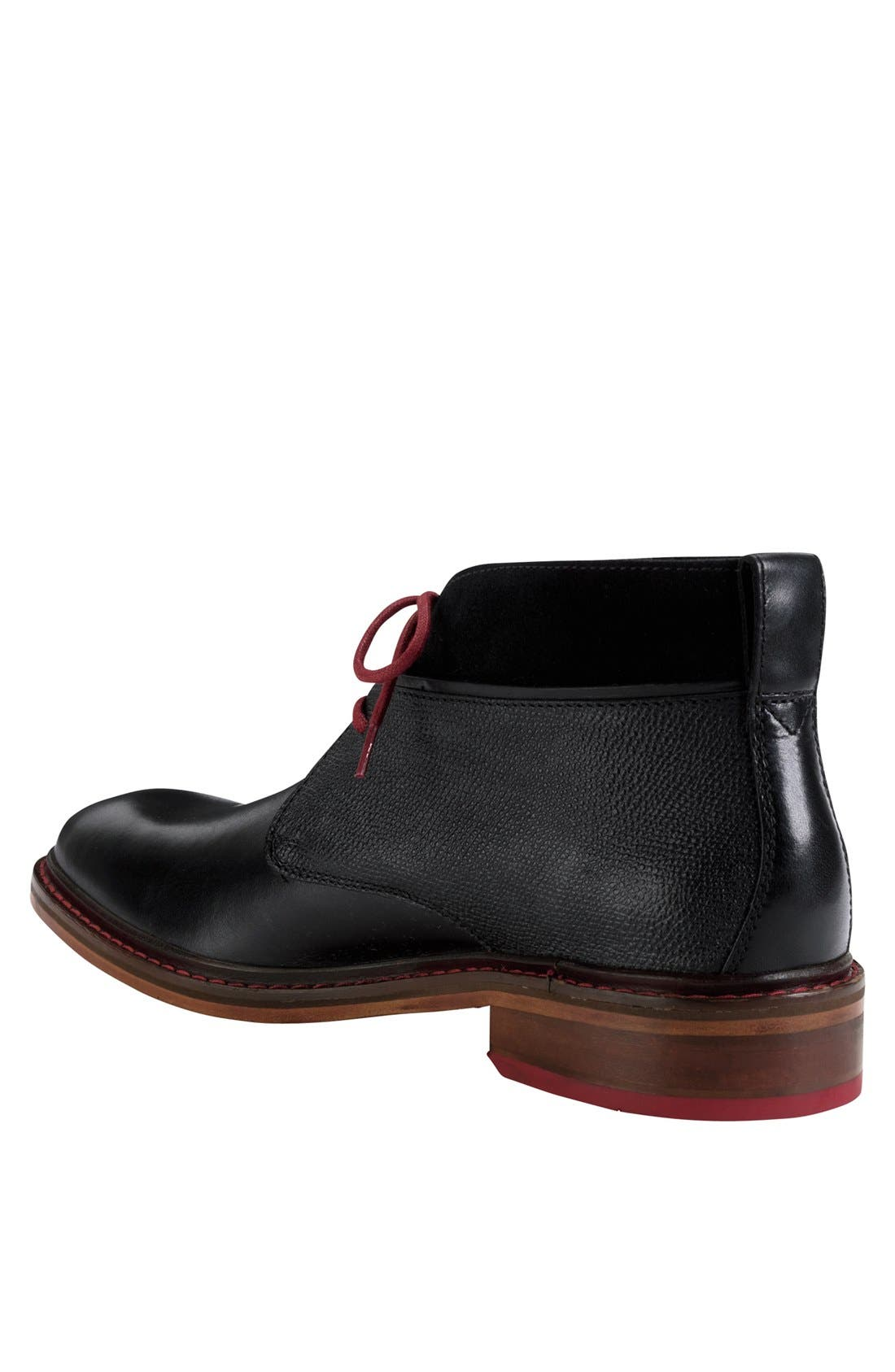 'Colton' Chukka Boot,                             Alternate thumbnail 5, color,                             BLACK