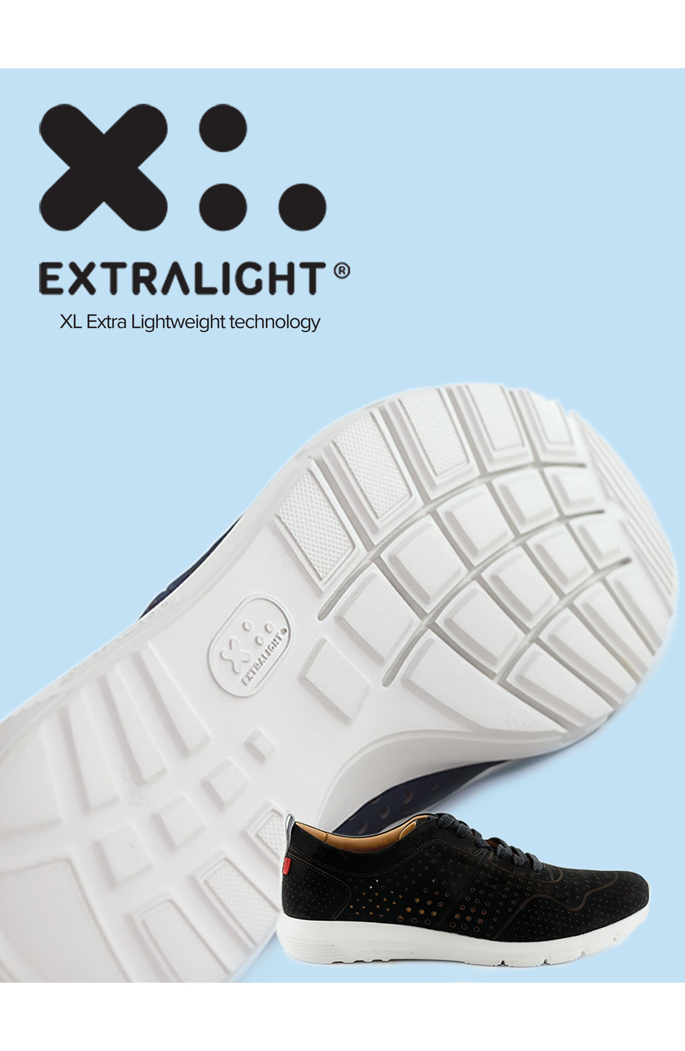 Grand Central Perforated Sneaker,                             Alternate thumbnail 7, color,                             BLACK
