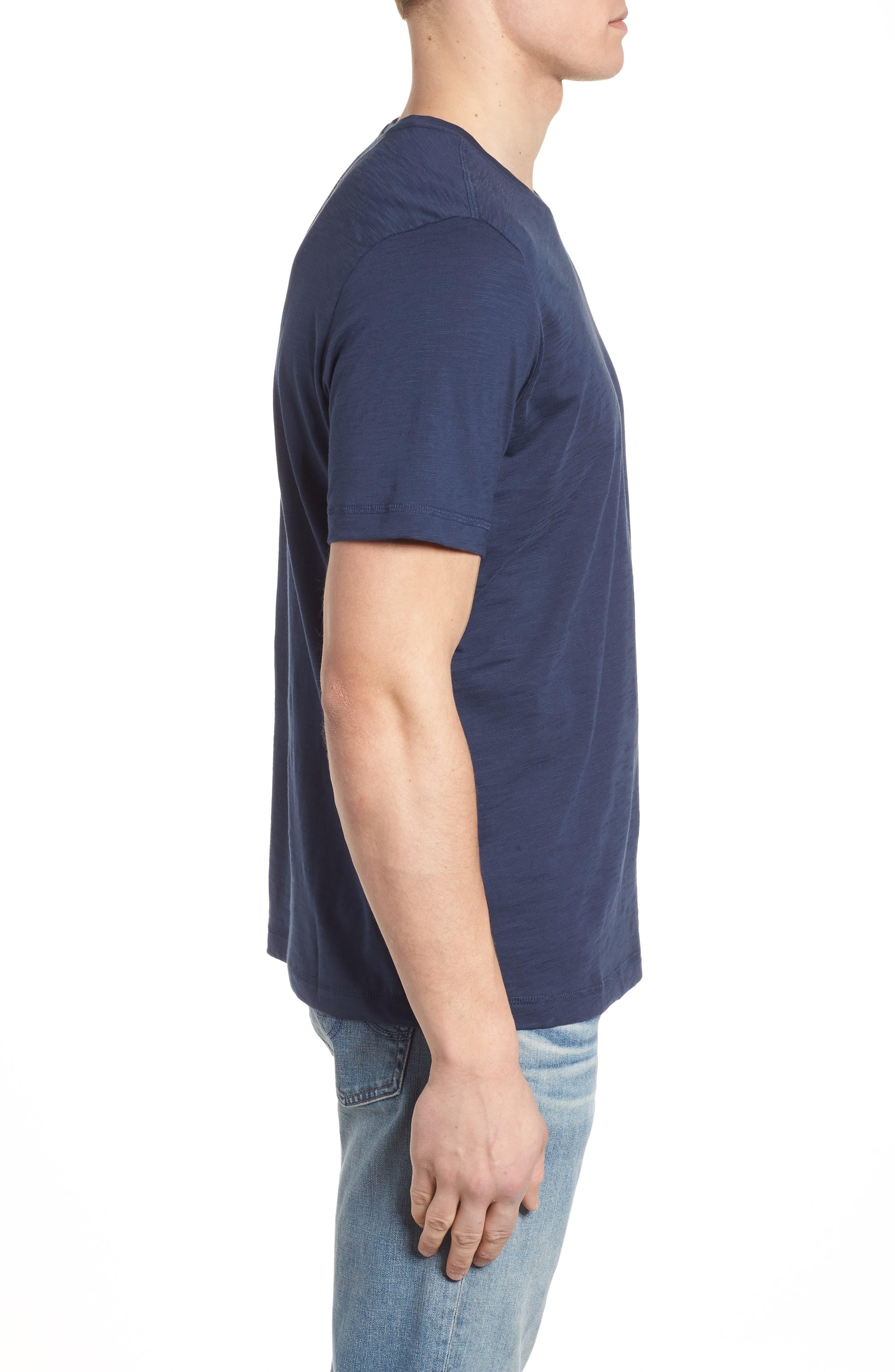Portside Palms V-Neck T-Shirt,                             Alternate thumbnail 26, color,