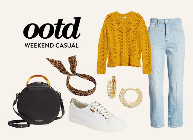 Weekend casual outfit of the day.