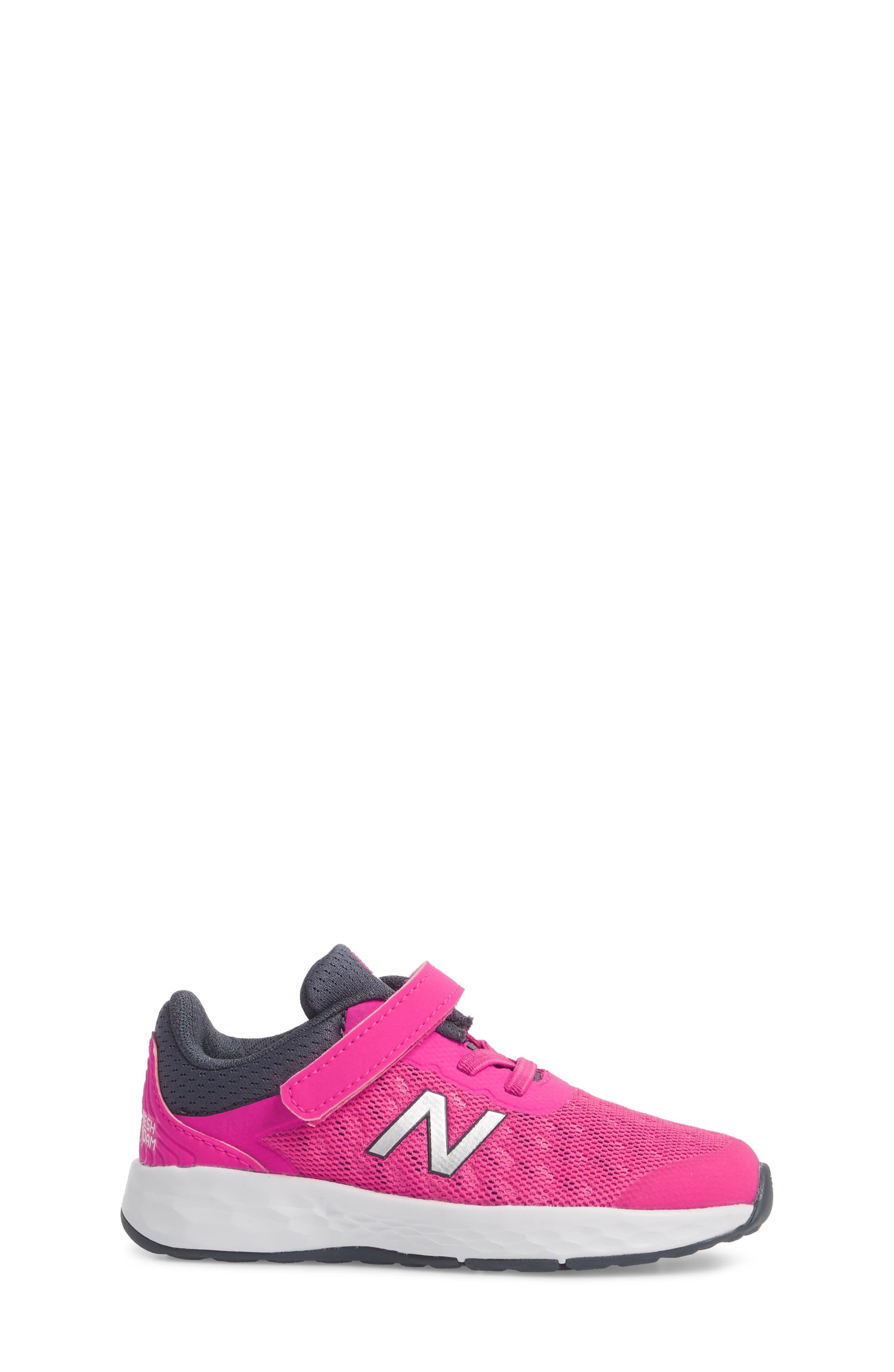 Fresh Foam Kaymin Sneaker,                             Alternate thumbnail 3, color,                             PINK GLOW