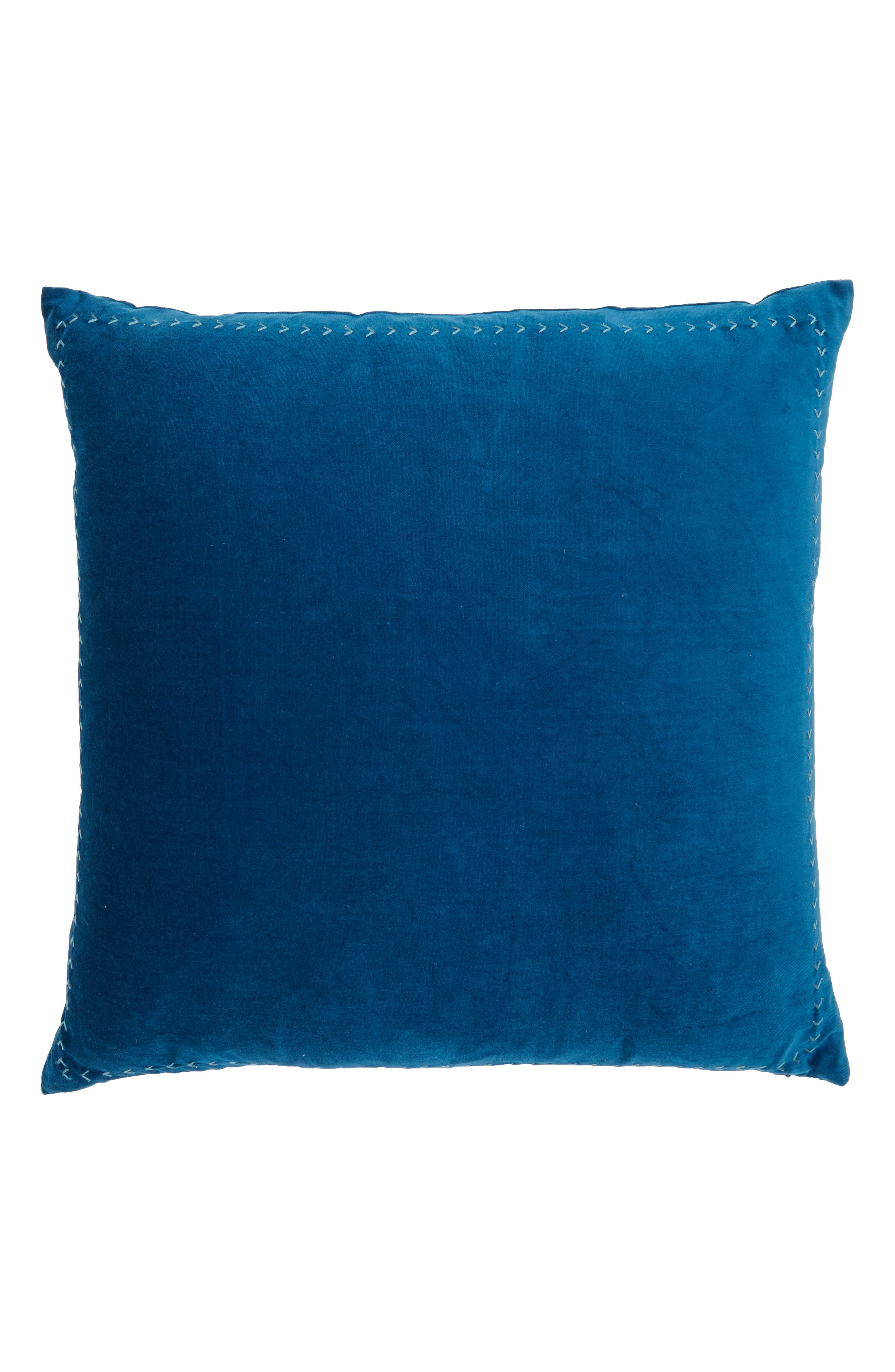 Velvet Accent Pillow,                             Alternate thumbnail 3, color,
