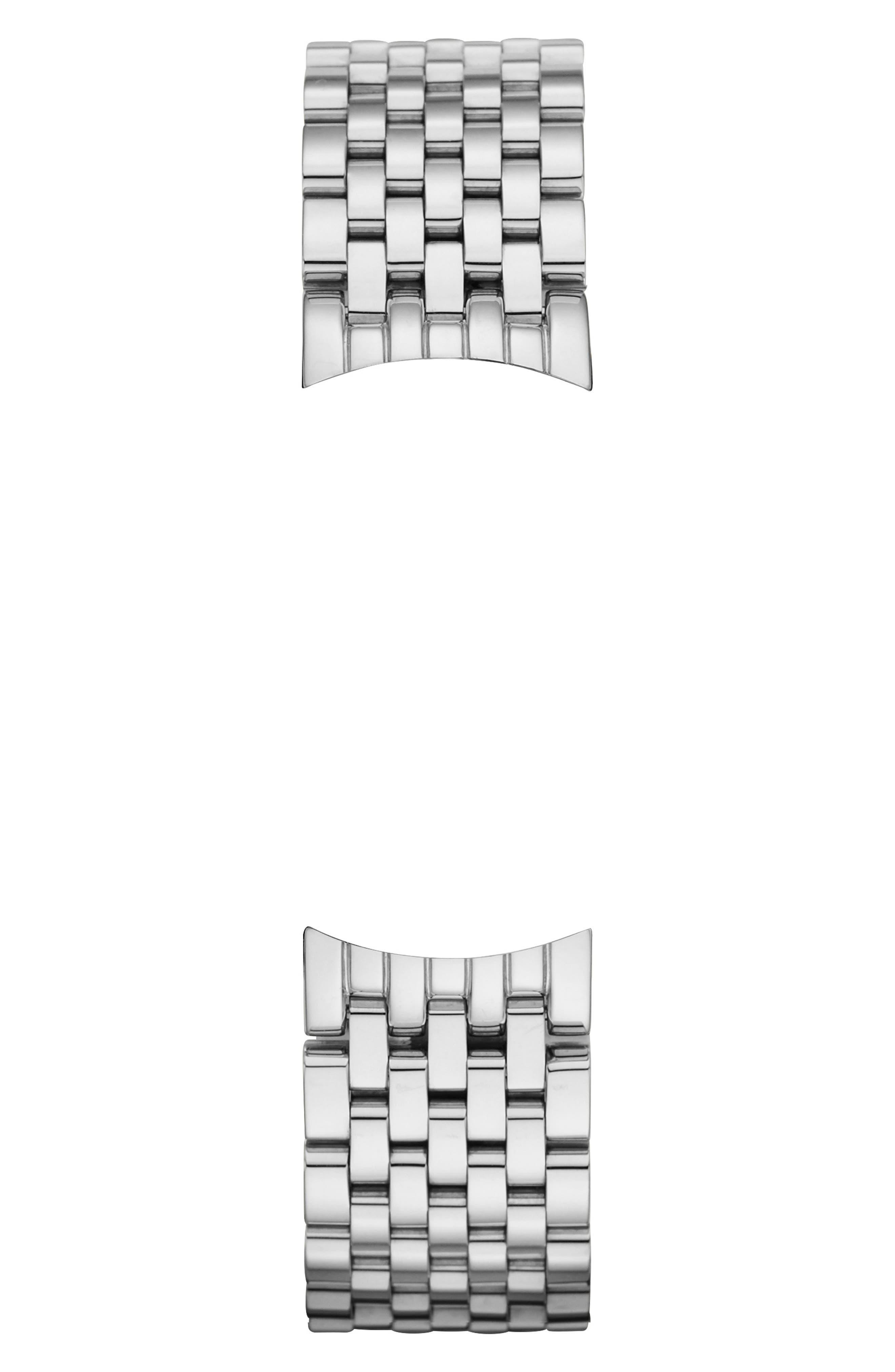 Serein 16 16mm Bracelet Watchband,                             Alternate thumbnail 3, color,                             SILVER