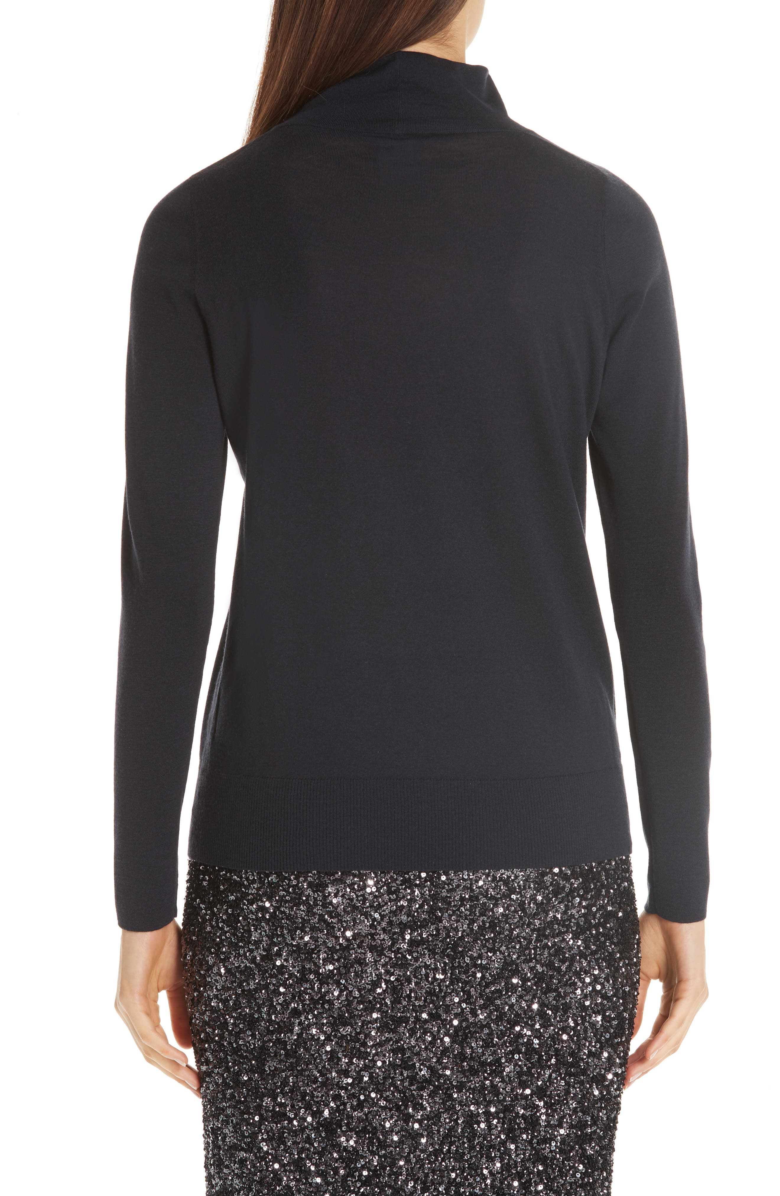 Merino Wool Modern Turtleneck Sweater,                             Alternate thumbnail 2, color,                             479