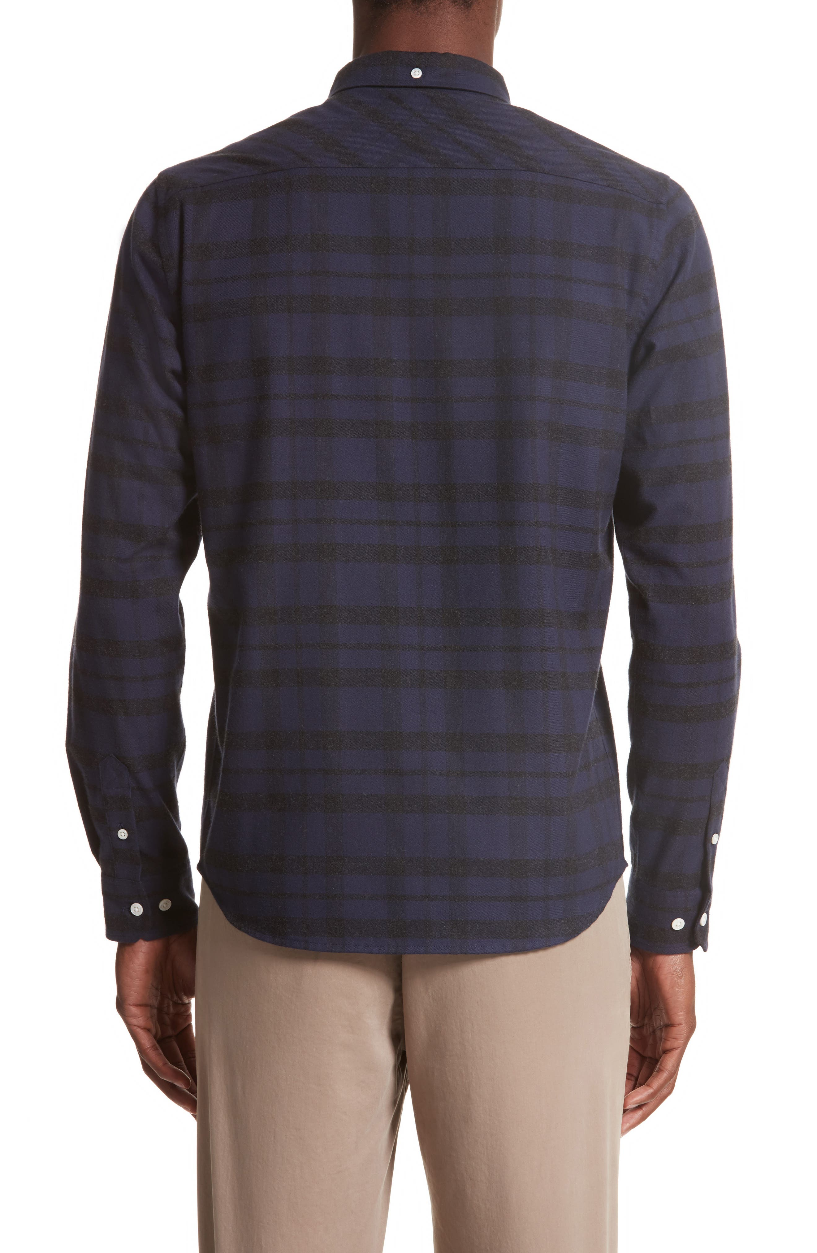 Anton Check Shirt,                             Alternate thumbnail 3, color,                             010