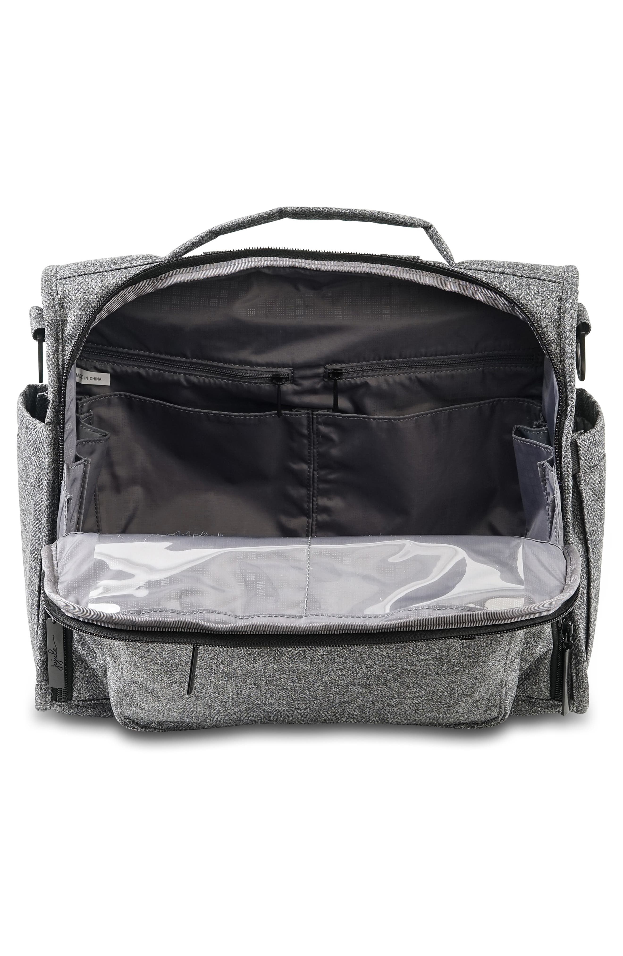 'BFF - Onyx Collection' Diaper Bag,                             Alternate thumbnail 3, color,                             GRAY MATTER