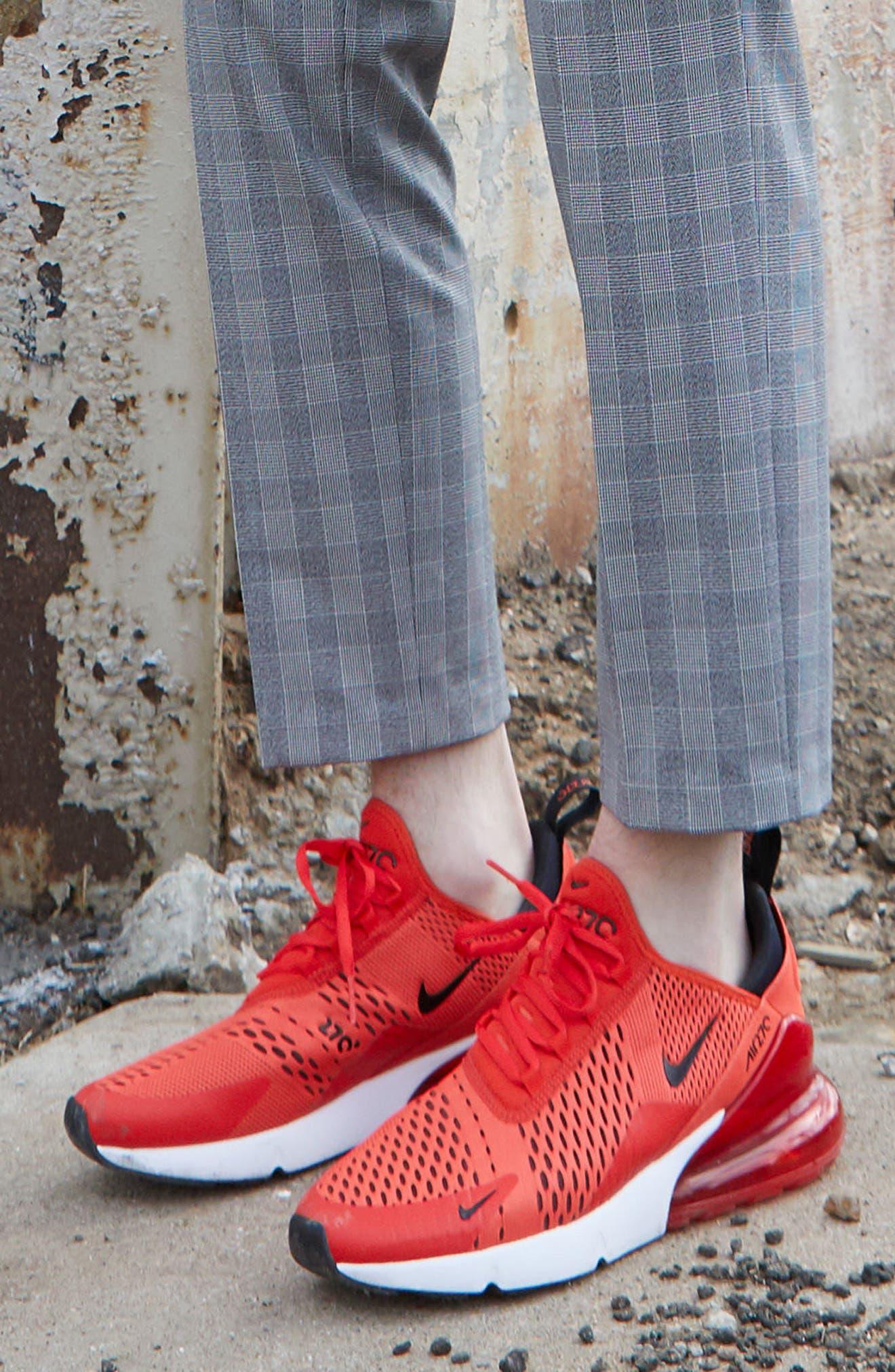 Air Max 270 Sneaker,                             Alternate thumbnail 7, color,                             ASHEN SLATE/ BLACK