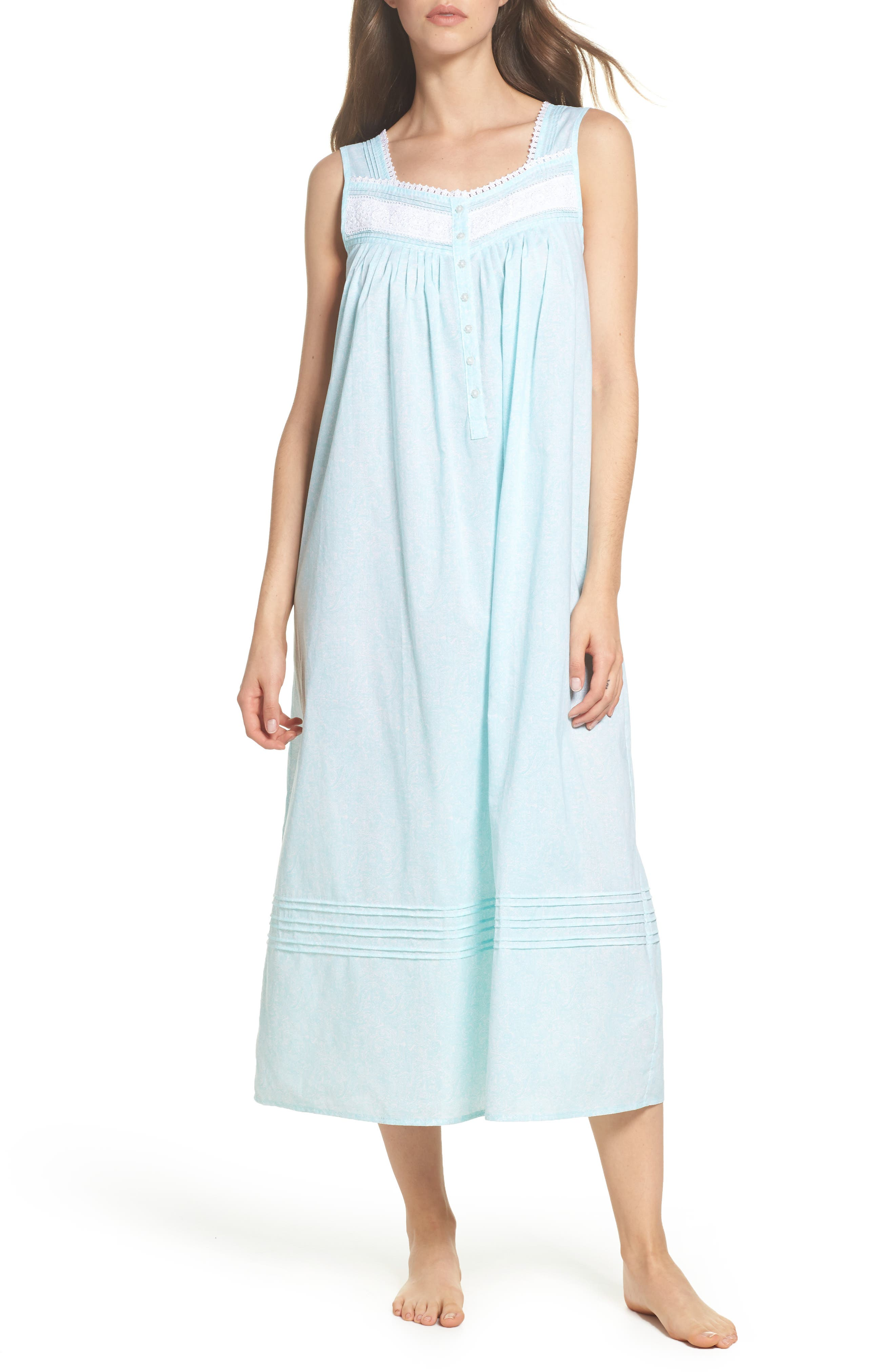 Cotton Lawn Ballet Nightgown,                         Main,                         color,