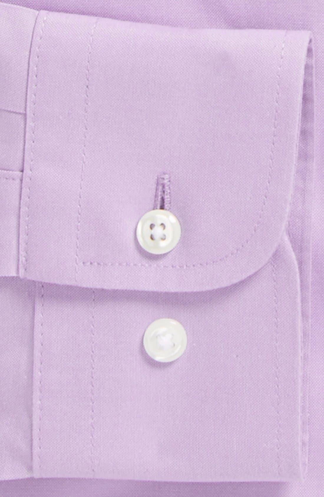 Smartcare<sup>™</sup> Trim Fit Solid Dress Shirt,                             Alternate thumbnail 36, color,