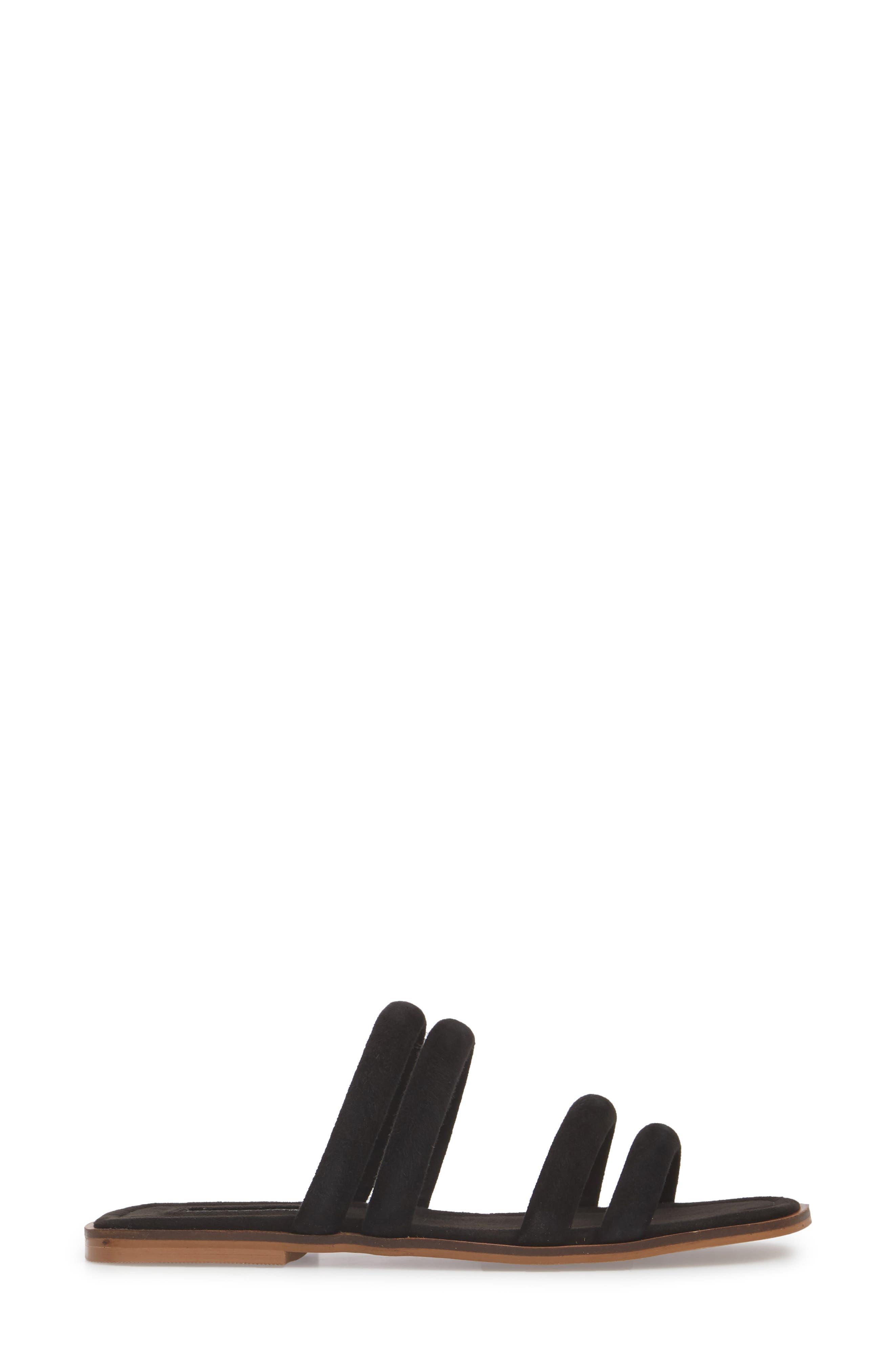 Fever Strappy Sandal,                             Alternate thumbnail 3, color,                             001