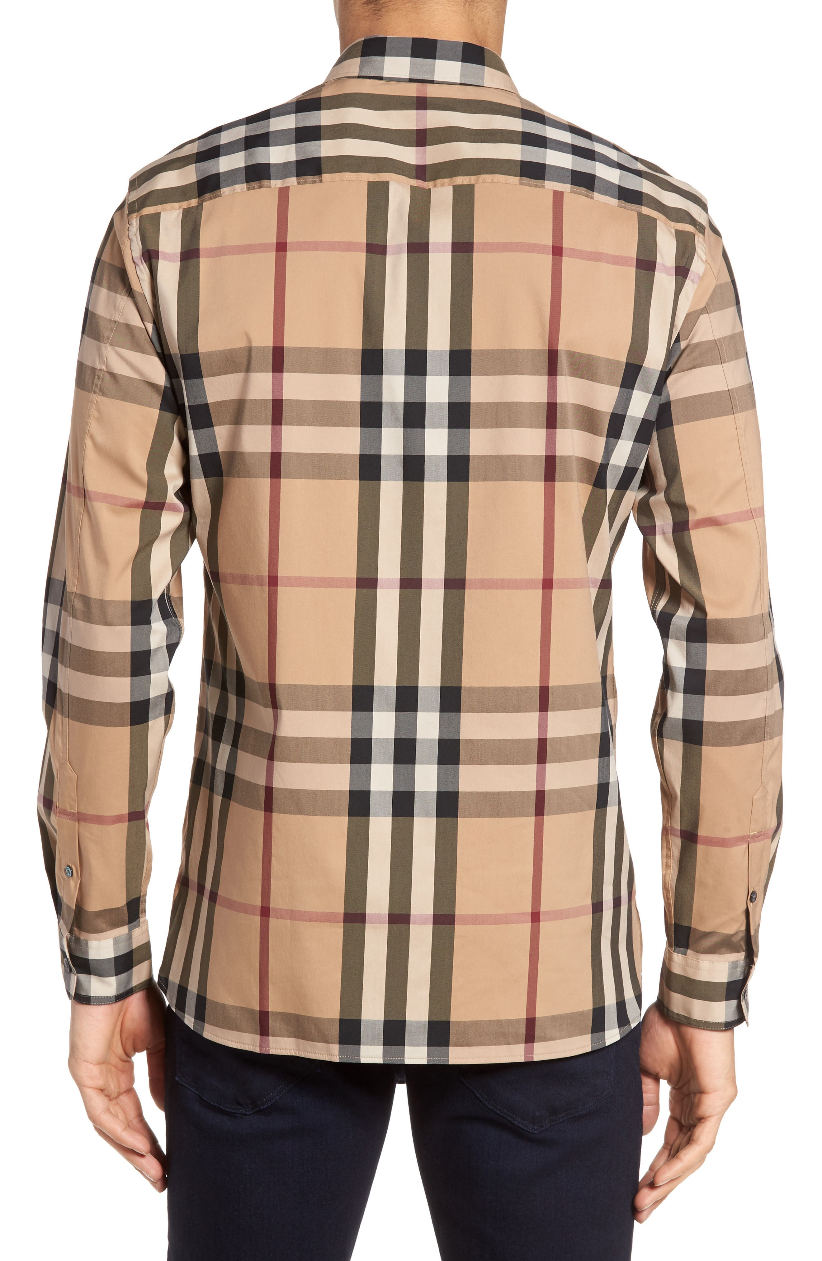 Nelson Check Sport Shirt,                             Alternate thumbnail 35, color,