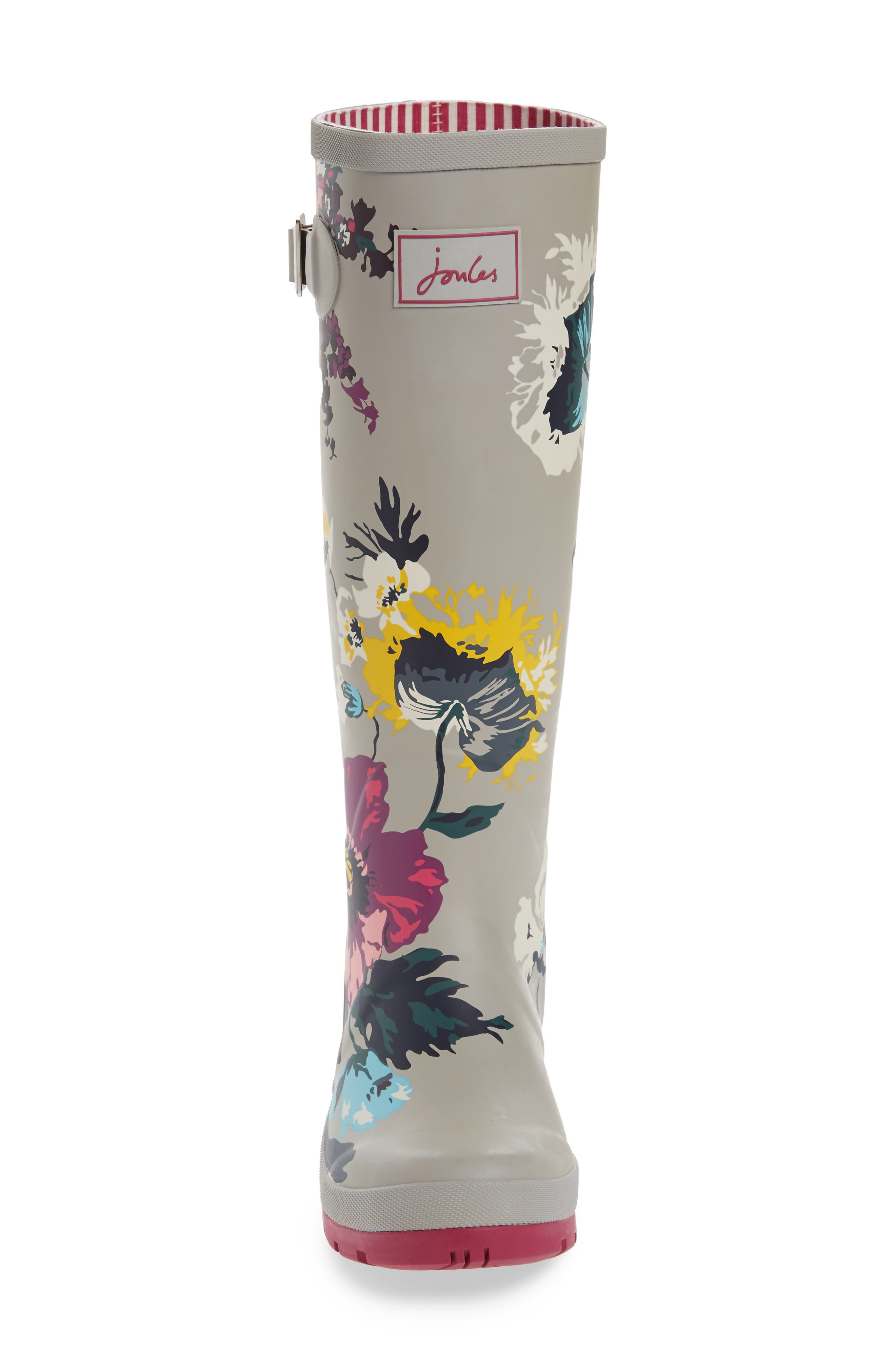 'Welly' Print Rain Boot,                             Alternate thumbnail 102, color,
