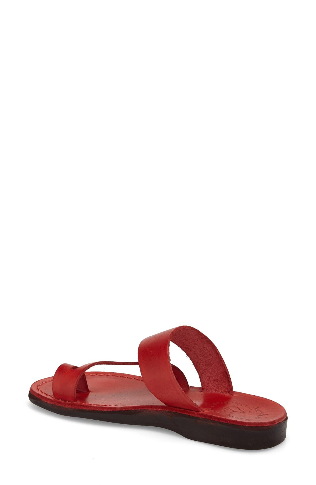 'Zohar' Leather Sandal,                             Alternate thumbnail 12, color,