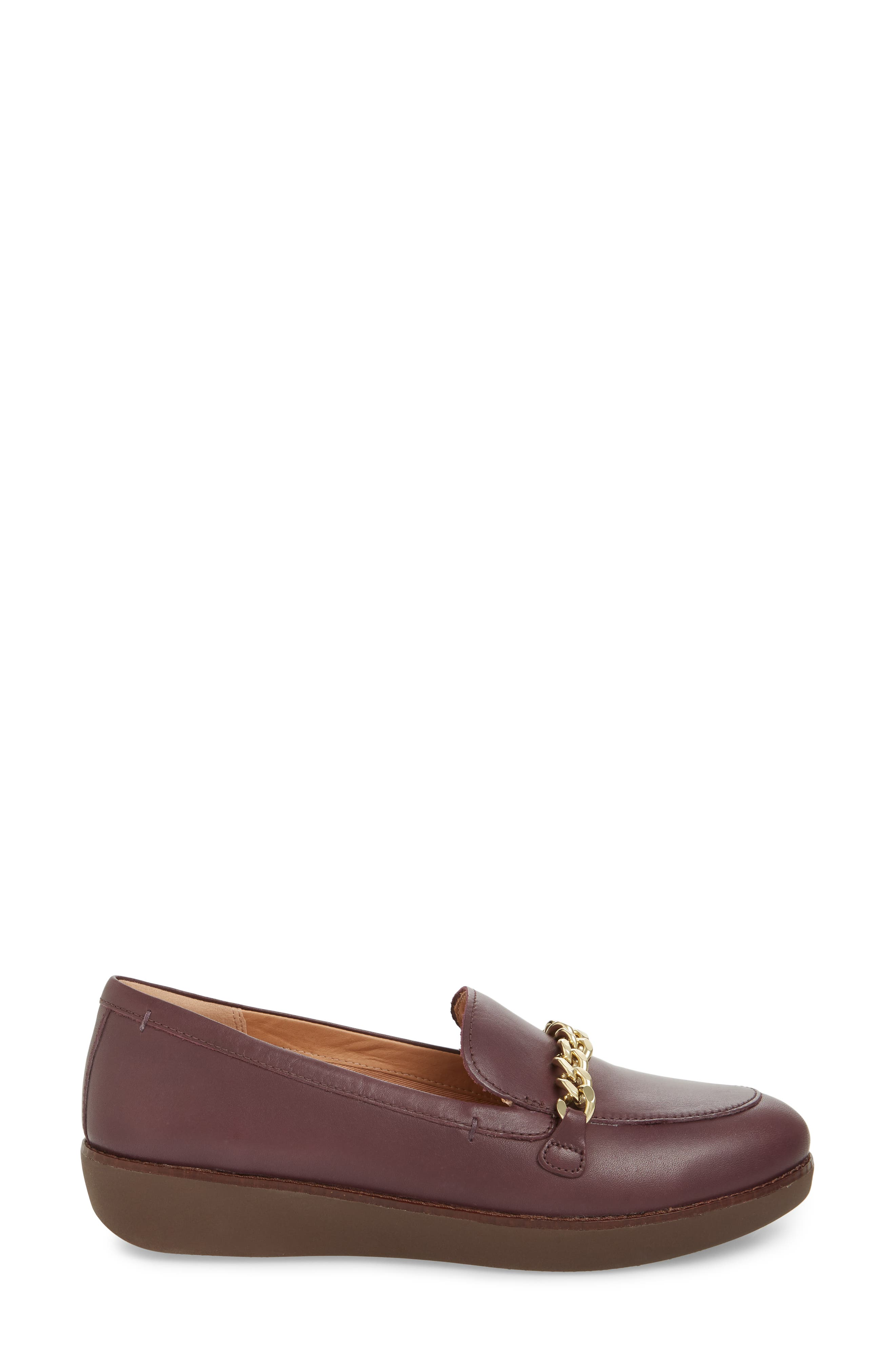 FITFLOP,                             Petrina Chain Loafer,                             Alternate thumbnail 3, color,                             547