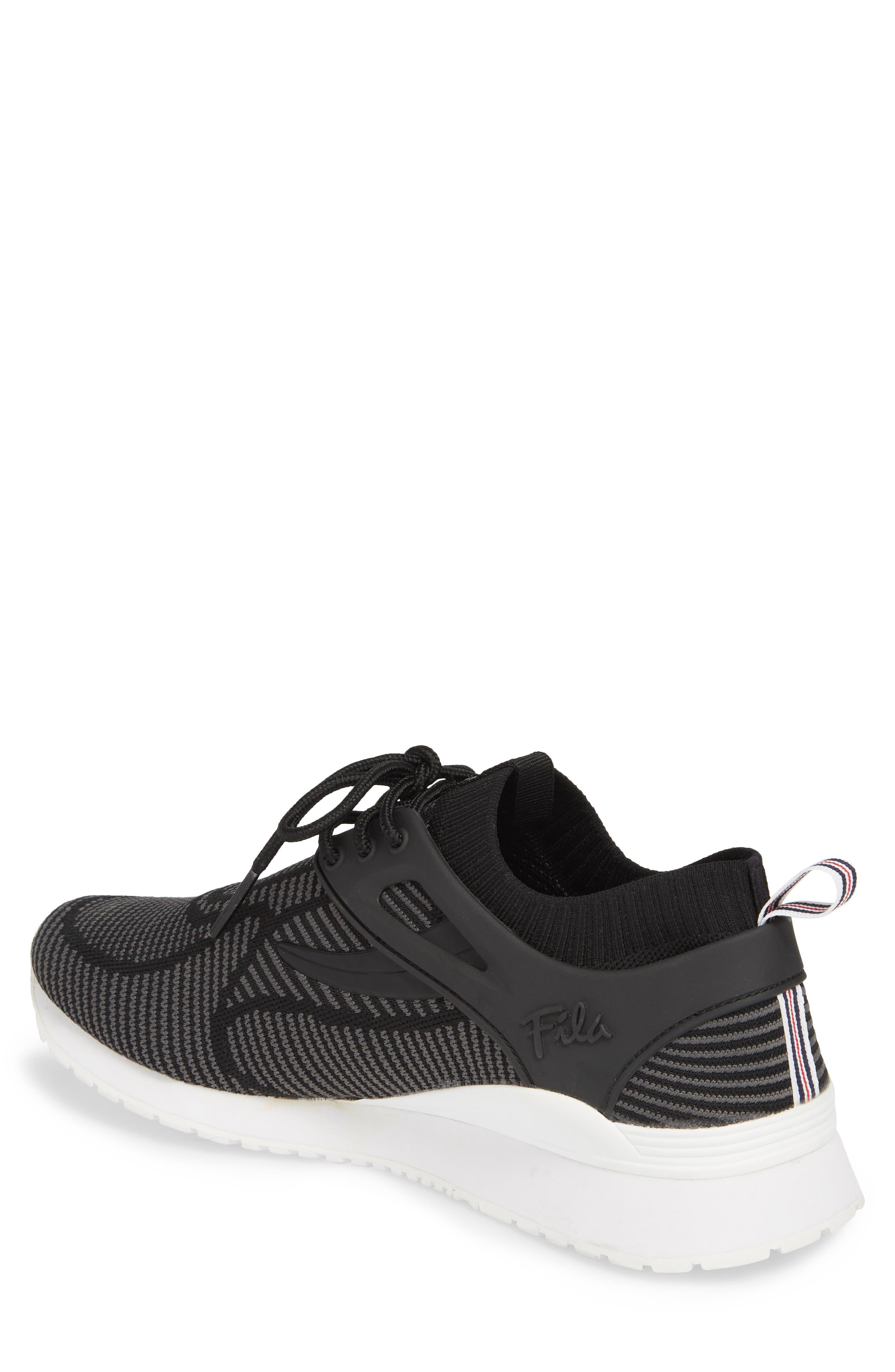 Overpass 2.0 Knit Sneaker,                             Alternate thumbnail 2, color,                             BLACK/ WHITE