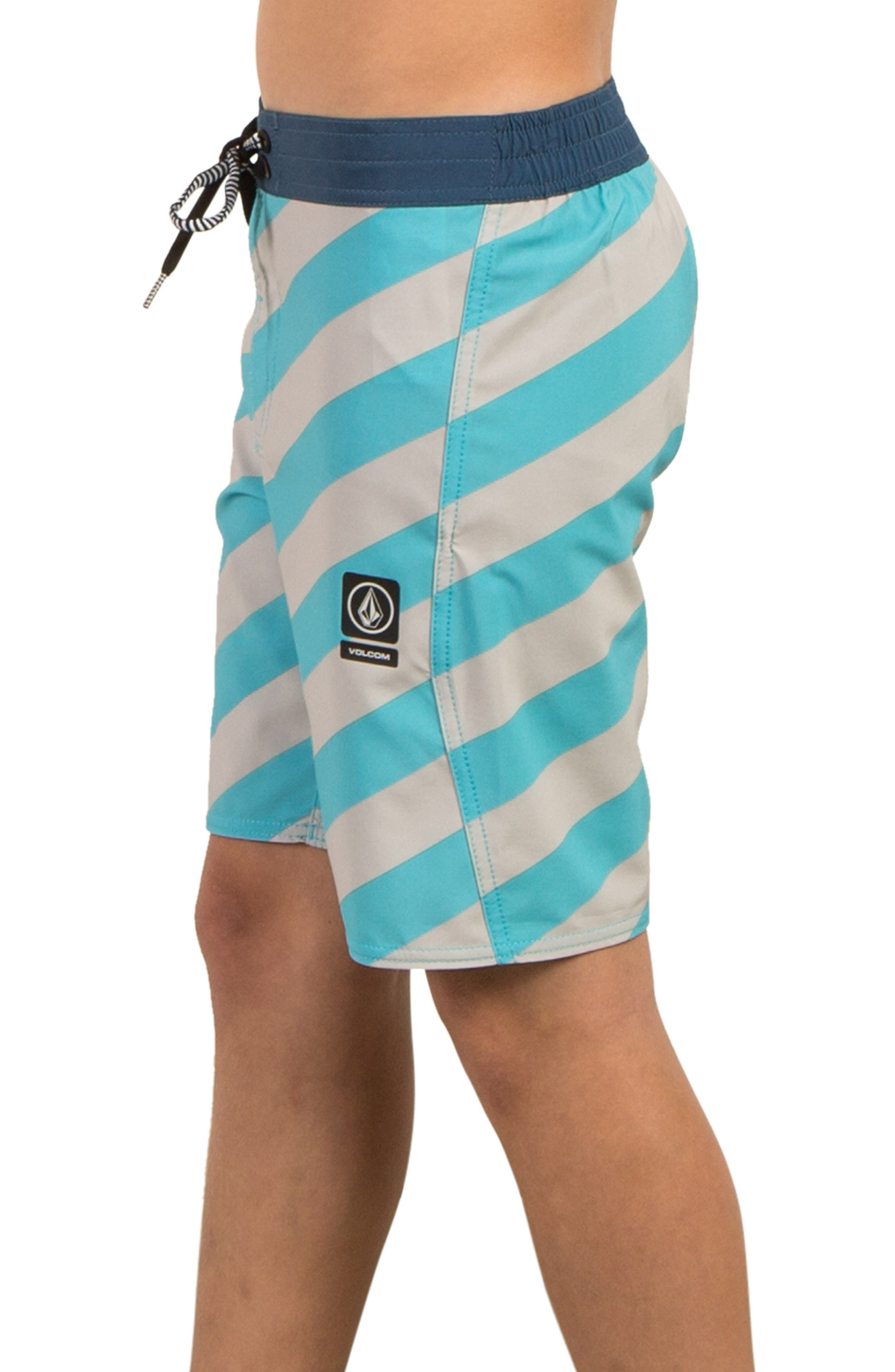 Stripey Jammer Board Shorts,                             Alternate thumbnail 20, color,