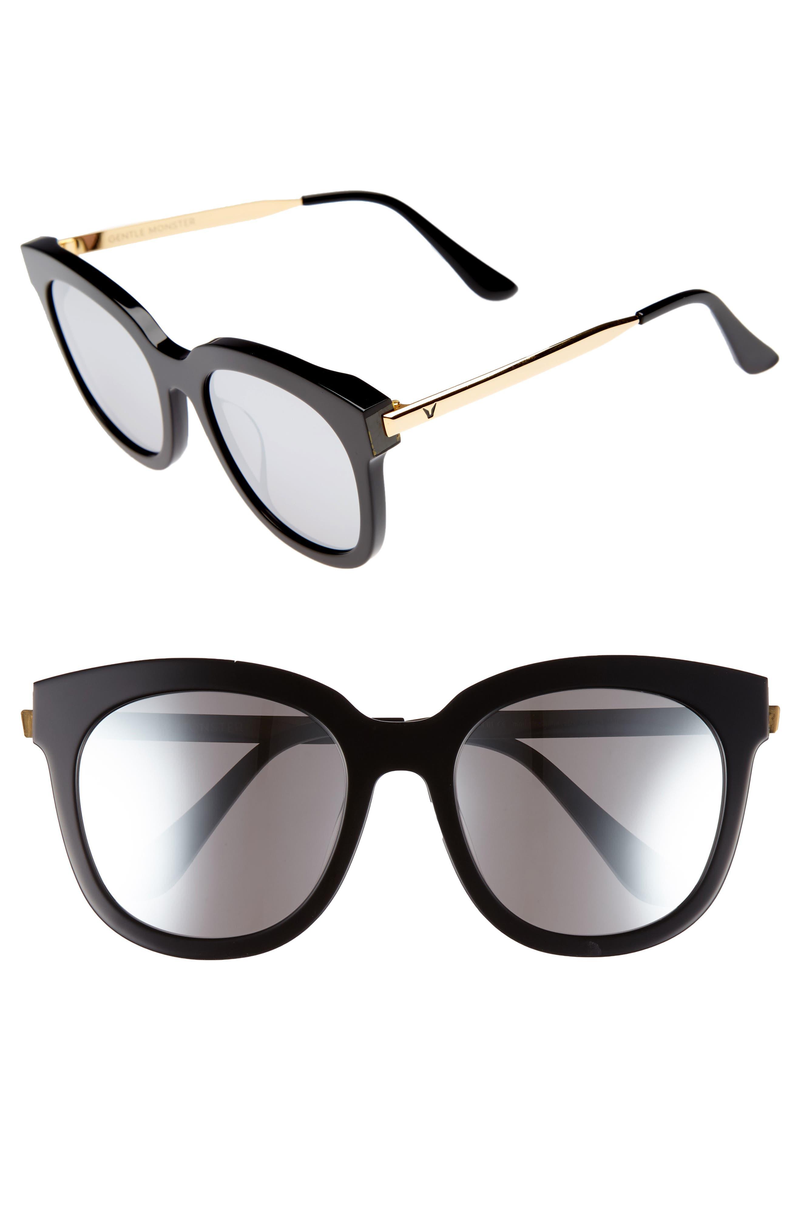 Cuba 503 55mm Zeiss Lens Sunglasses,                         Main,                         color, 001