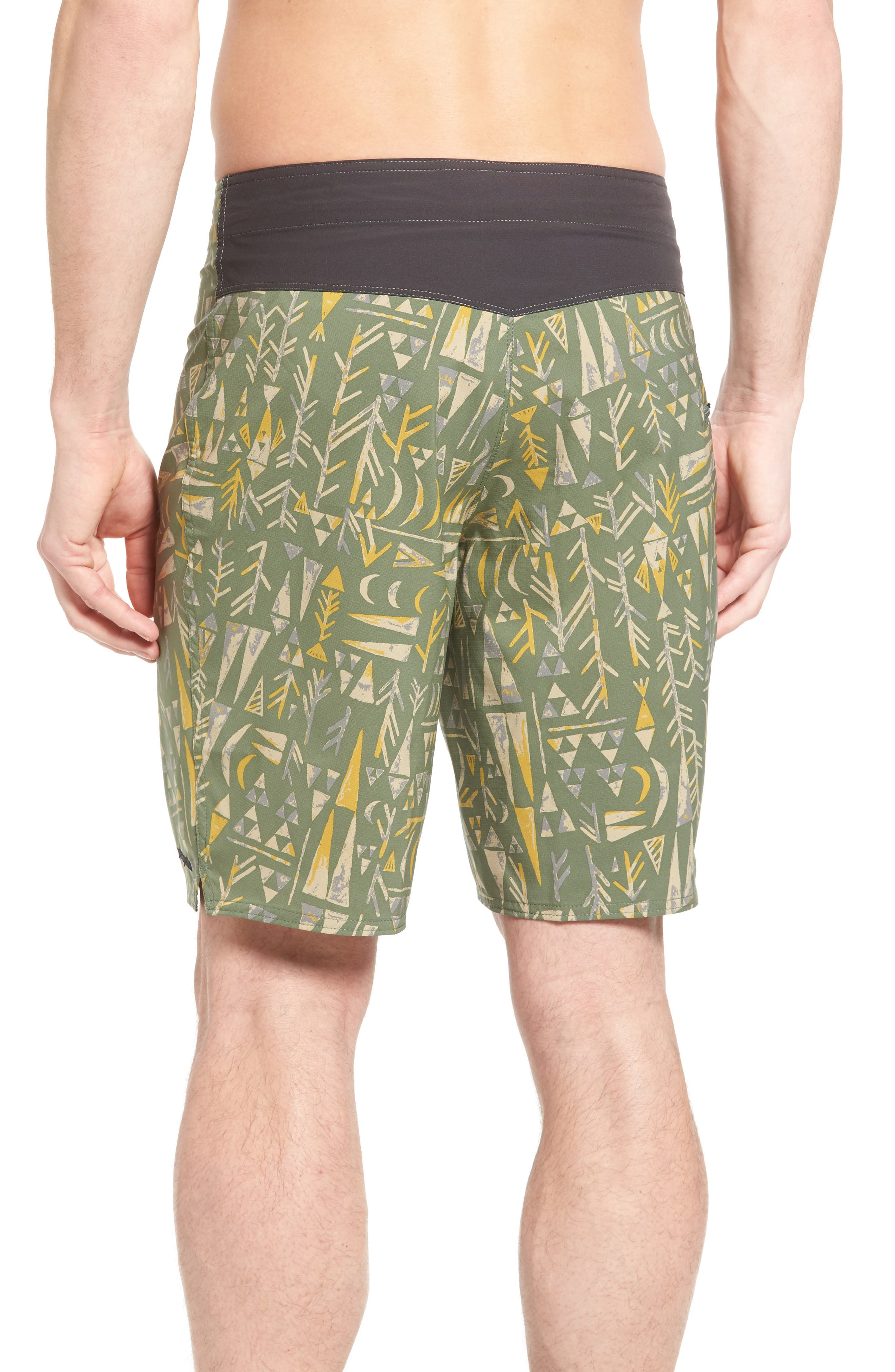 Stretch Planing Board Shorts,                             Alternate thumbnail 8, color,