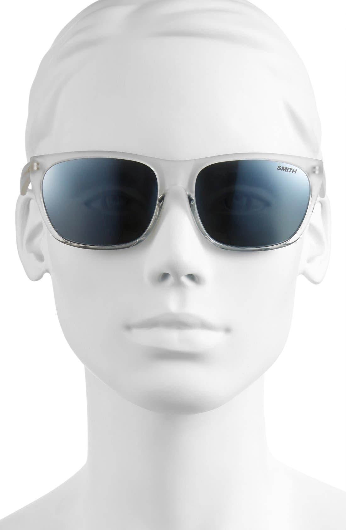 'Tioga' 57mm Polarized Sunglasses,                             Alternate thumbnail 2, color,                             100