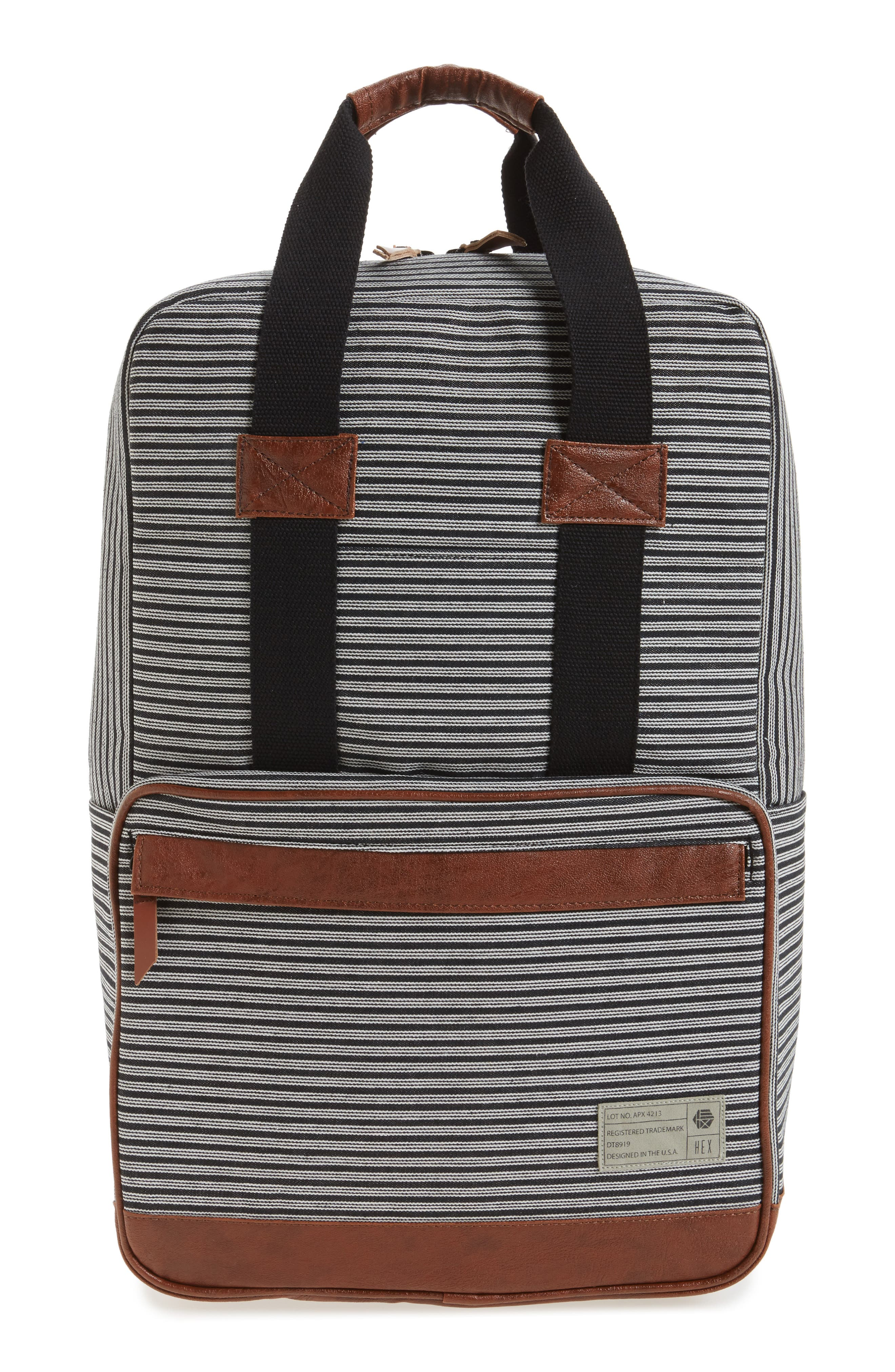 Supply Convertible Water Resistant Backpack,                             Main thumbnail 2, color,
