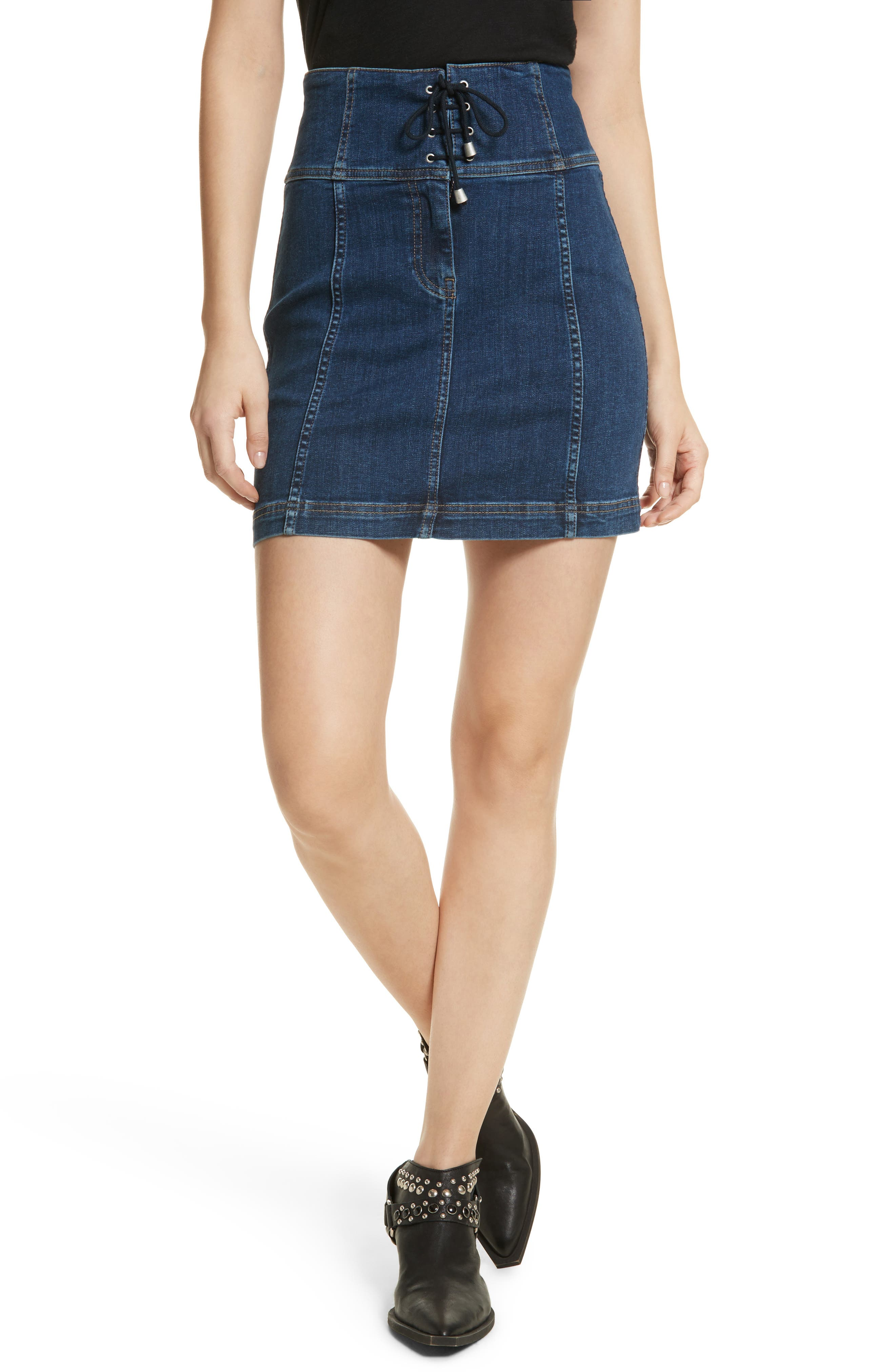 Modern Femme Corset Skirt,                             Main thumbnail 1, color,