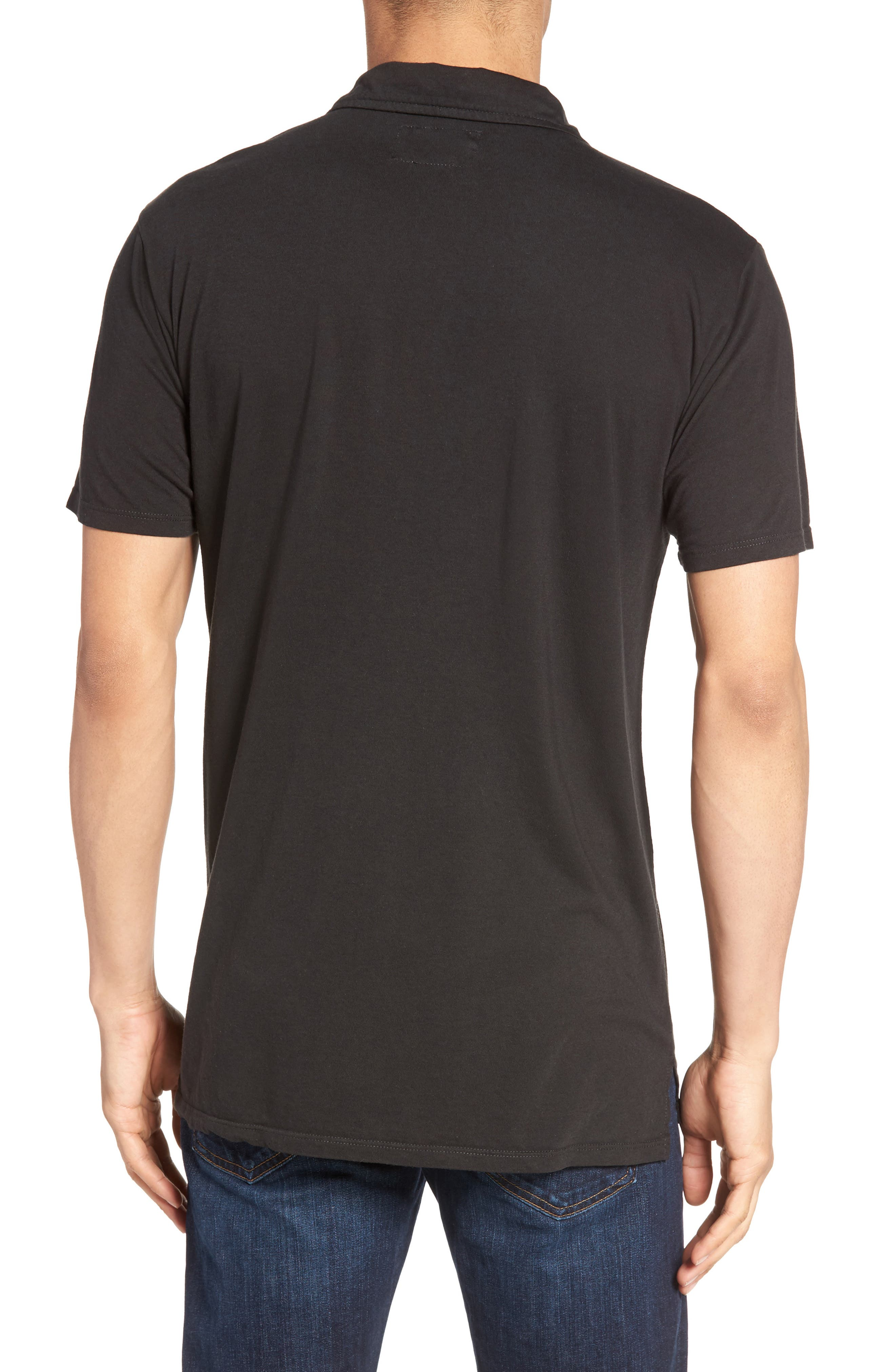 Essential Jersey Polo,                             Alternate thumbnail 2, color,                             001