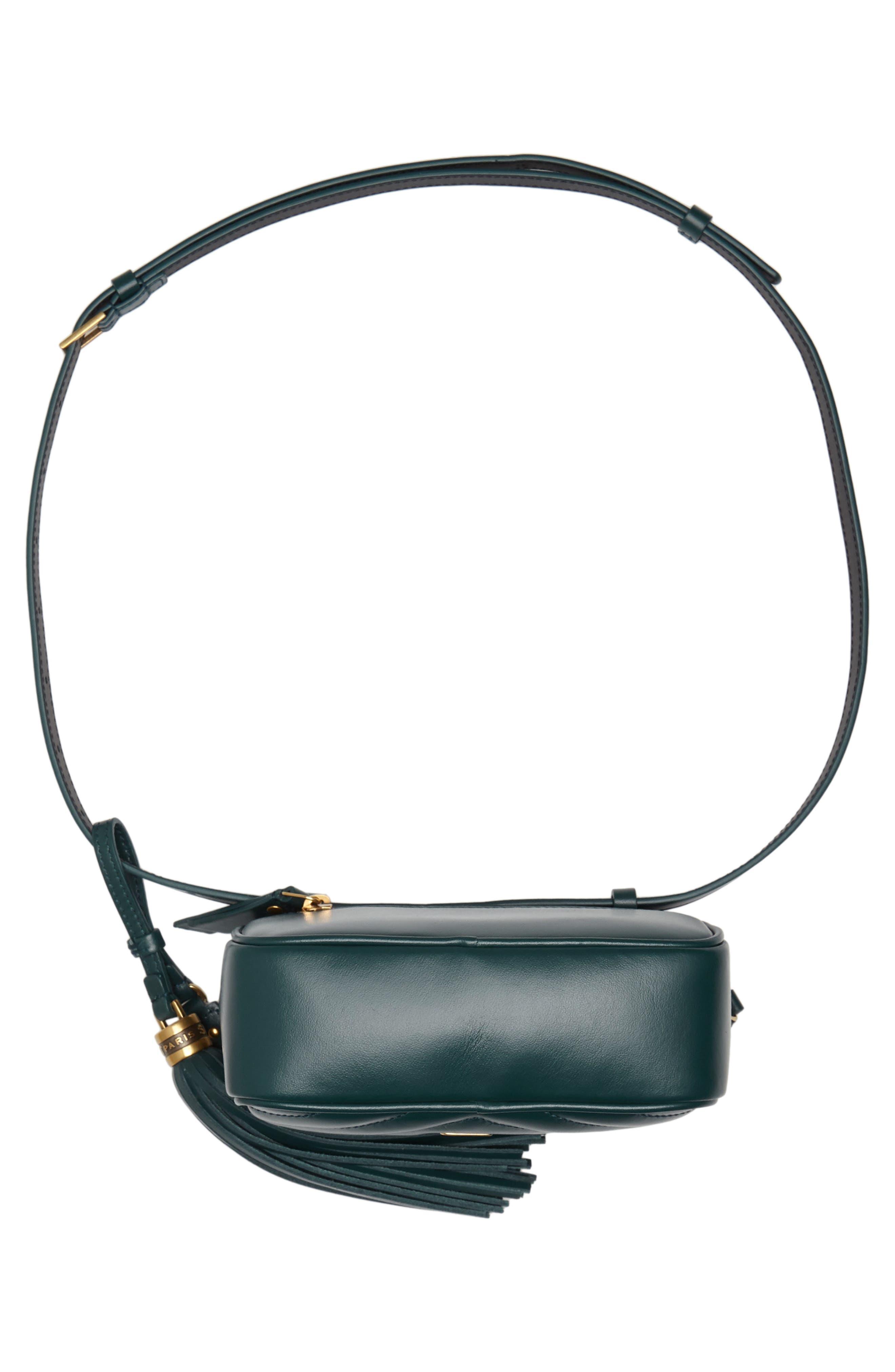 Loulou Matelassé Leather Belt Bag,                             Alternate thumbnail 7, color,                             300